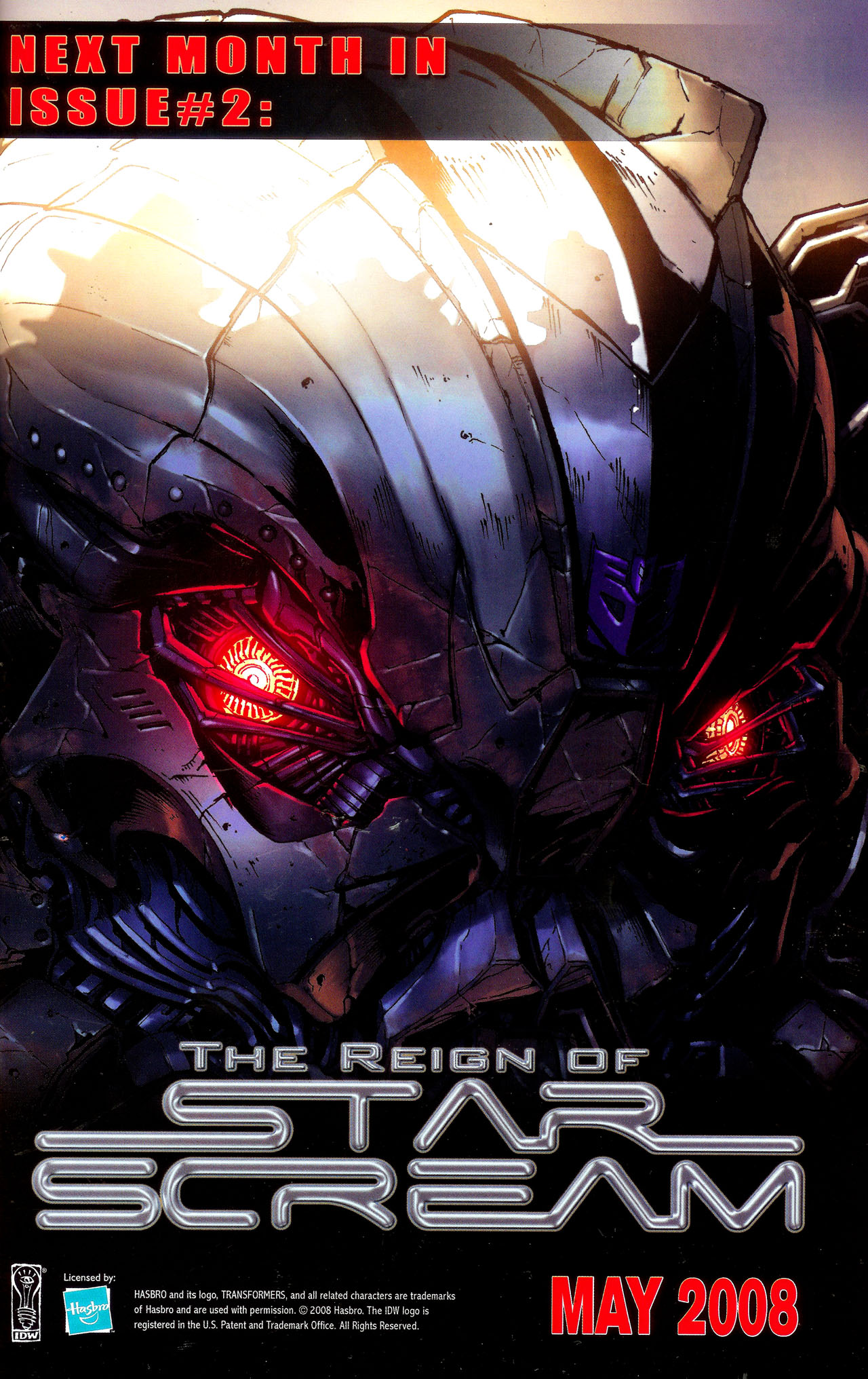 Read online Transformers: The Reign of Starscream comic -  Issue #1 - 26