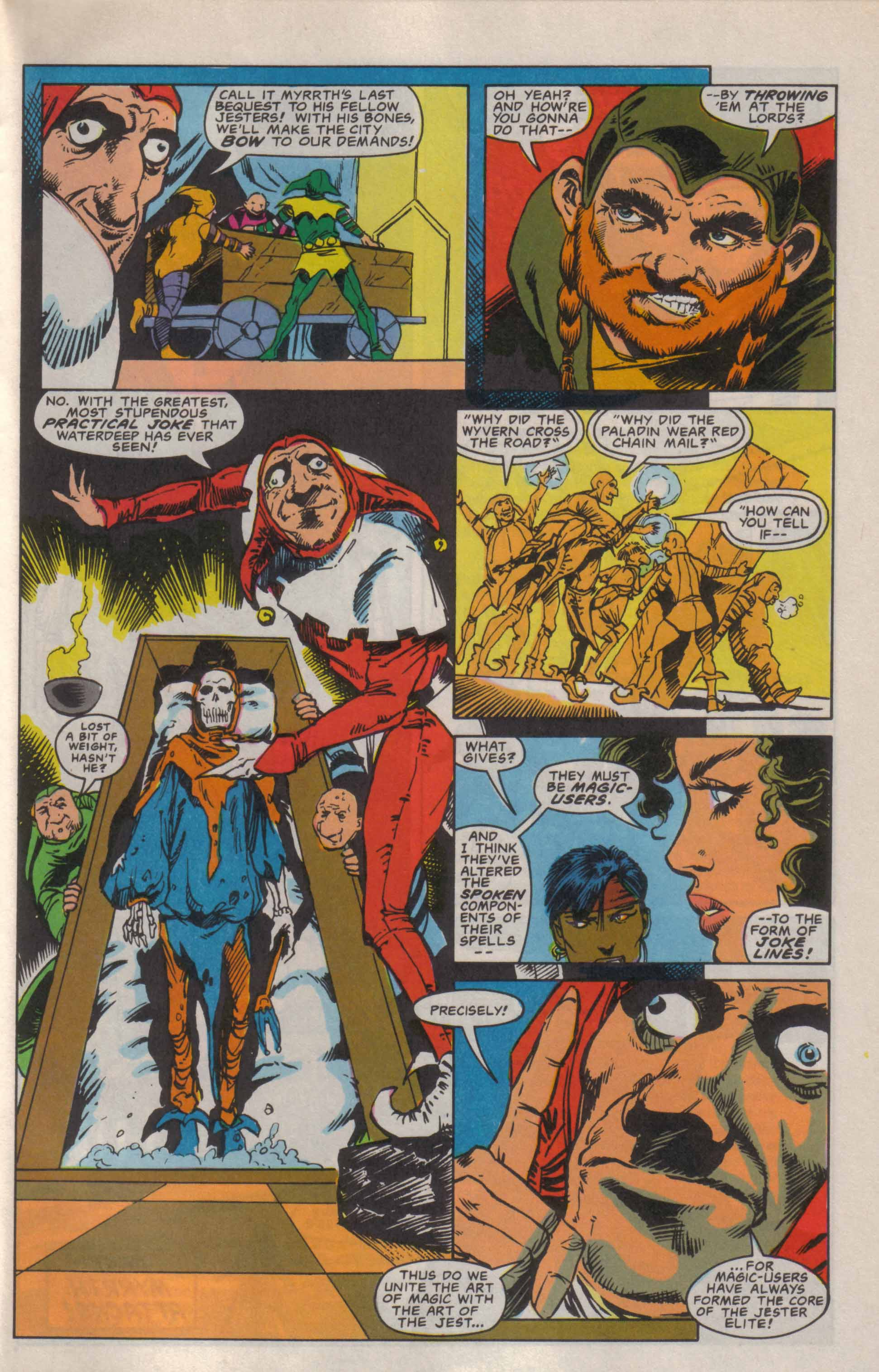Read online Advanced Dungeons & Dragons comic -  Issue #6 - 24