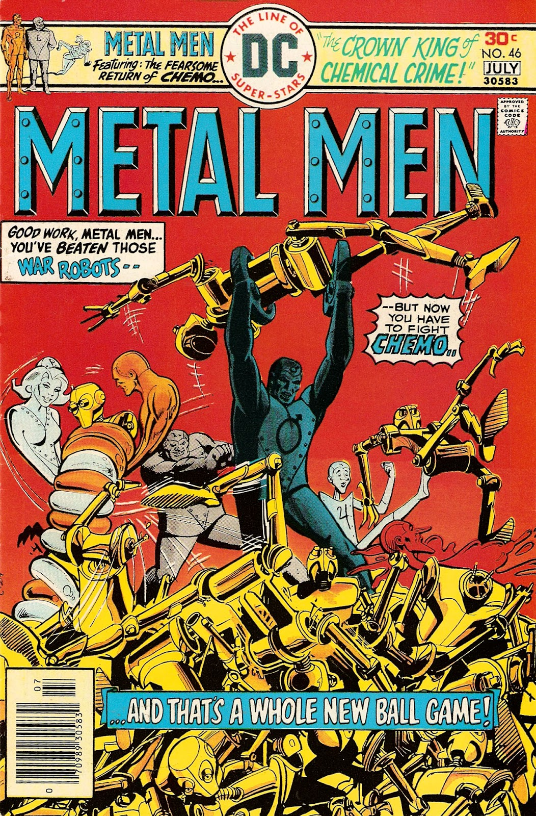 Metal Men (1963) issue 46 - Page 1