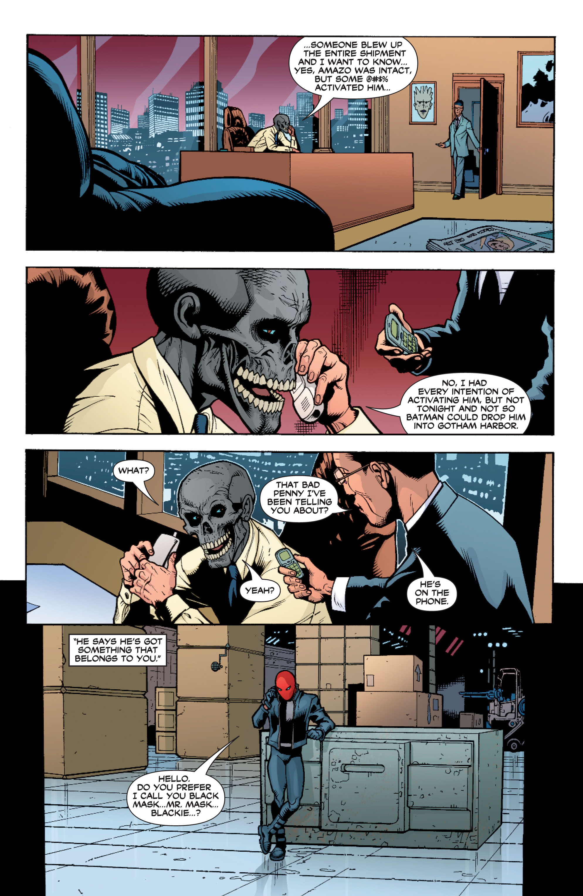 Read online Batman: Under The Red Hood comic -  Issue # Full - 75