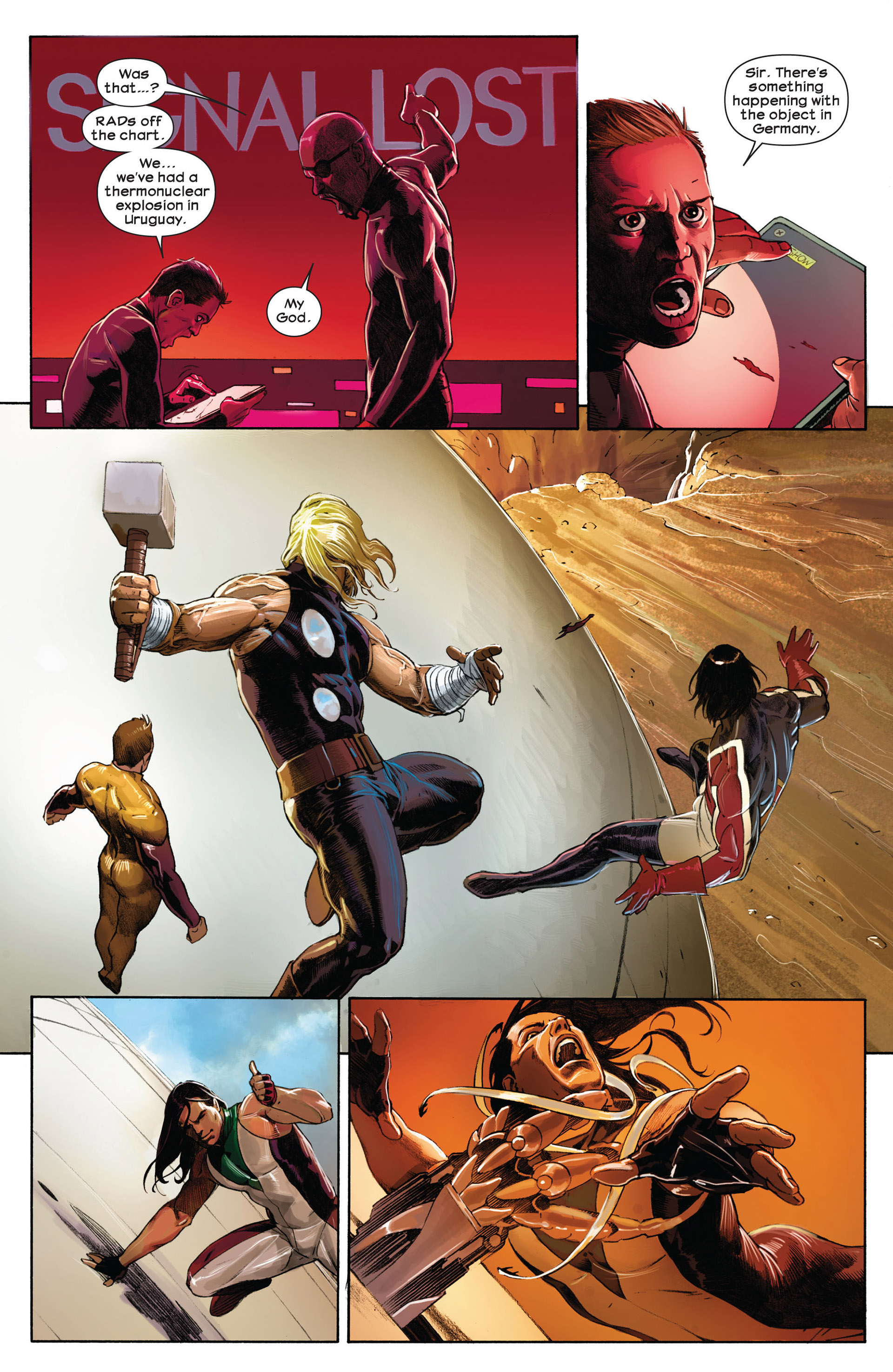 Read online Ultimate Comics Ultimates comic -  Issue #1 - 19