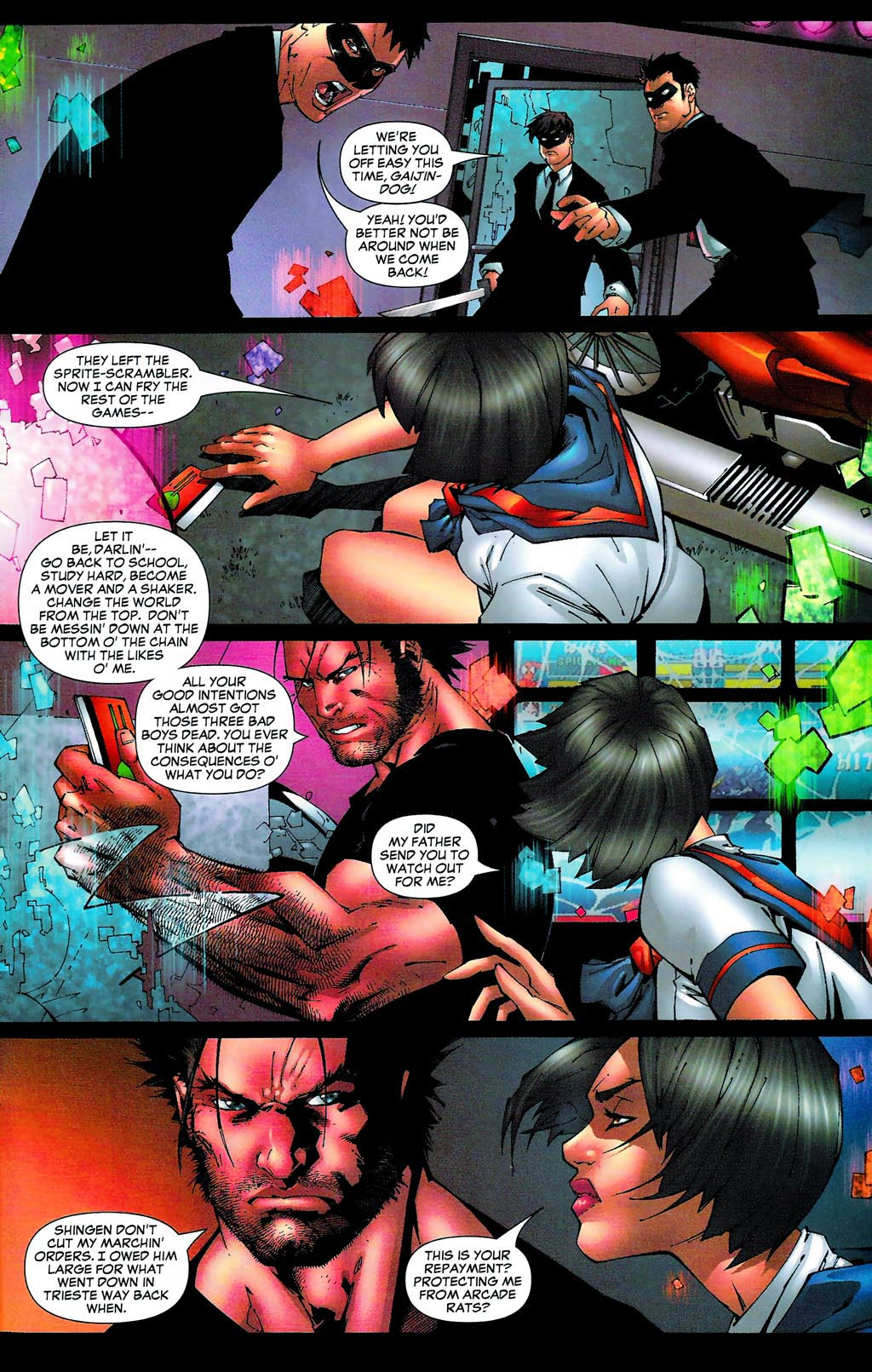 Read online Age of Apocalypse (2005) comic -  Issue #0 - 20