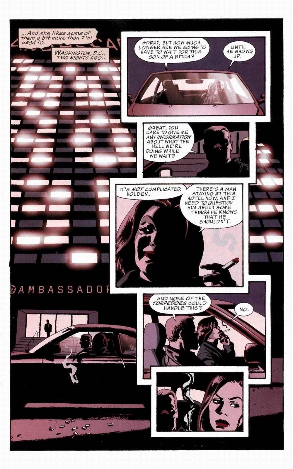 Read online Sleeper comic -  Issue #3 - 8