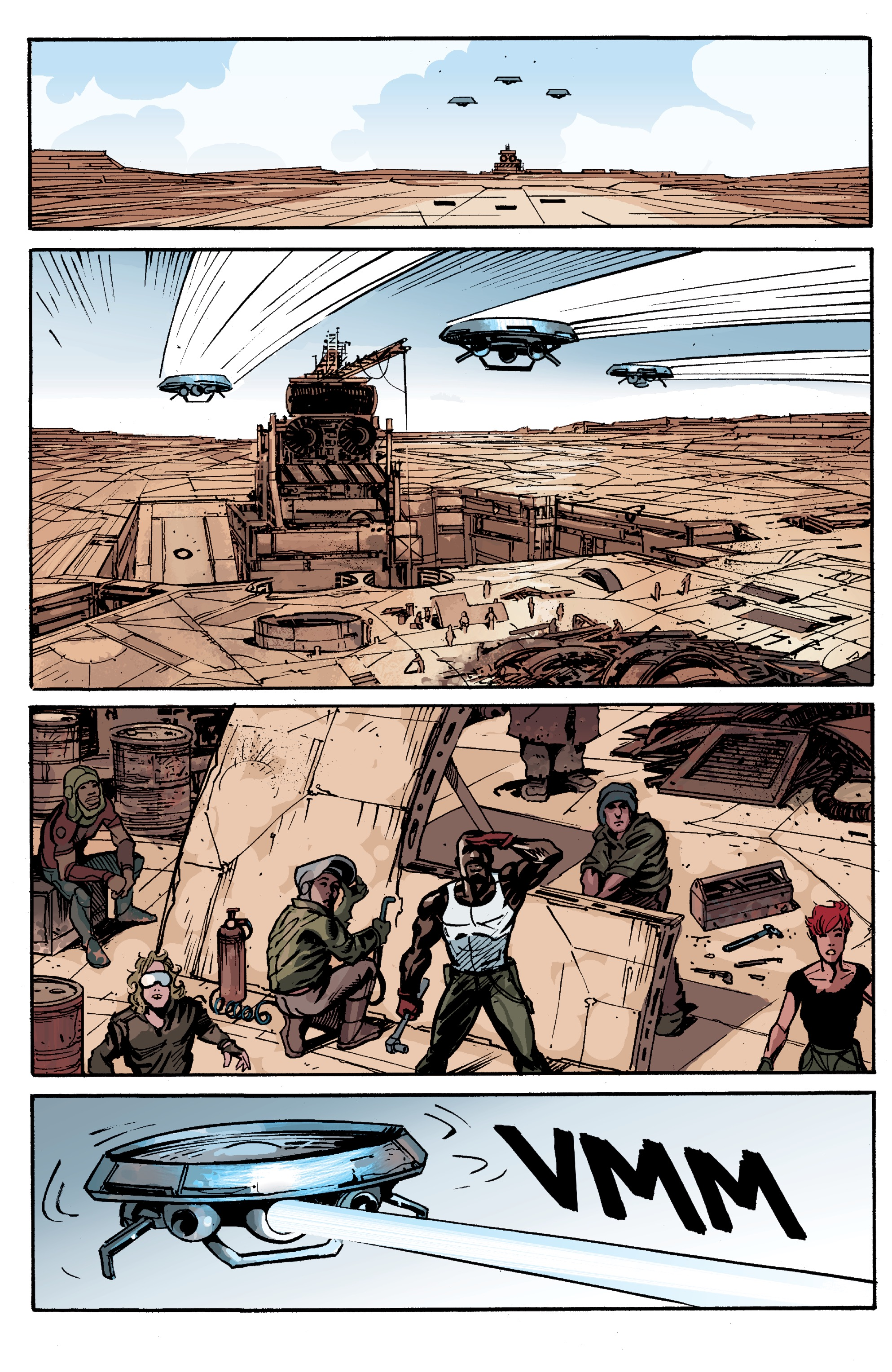 Read online Planetoid Praxis comic -  Issue #4 - 23