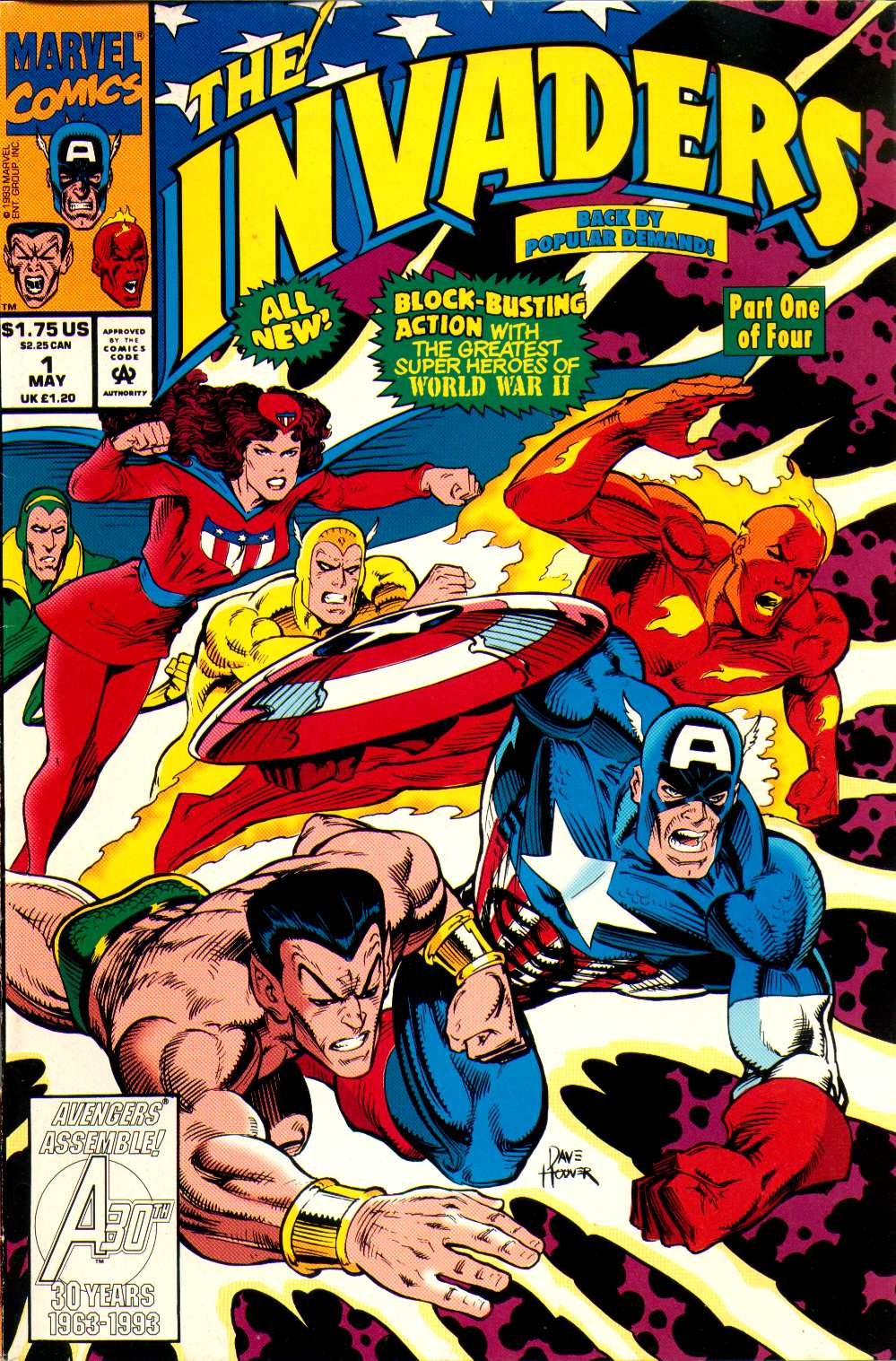 Read online The Invaders (1993) comic -  Issue #1 - 1