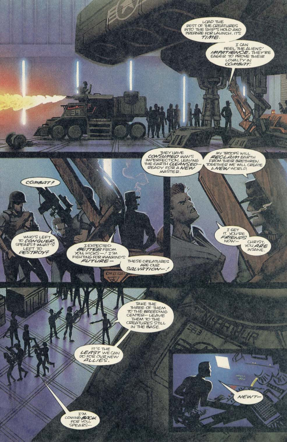 Read online Aliens (1989) comic -  Issue #4 - 5