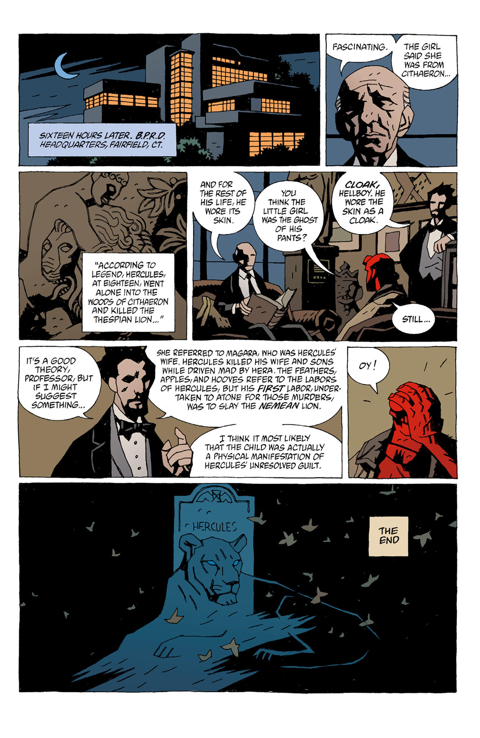 Read online Hellboy: The Troll Witch and Others comic -  Issue # TPB - 25