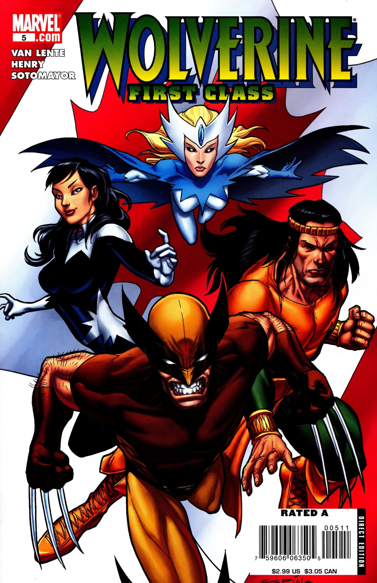 Read online Wolverine: First Class comic -  Issue #5 - 1