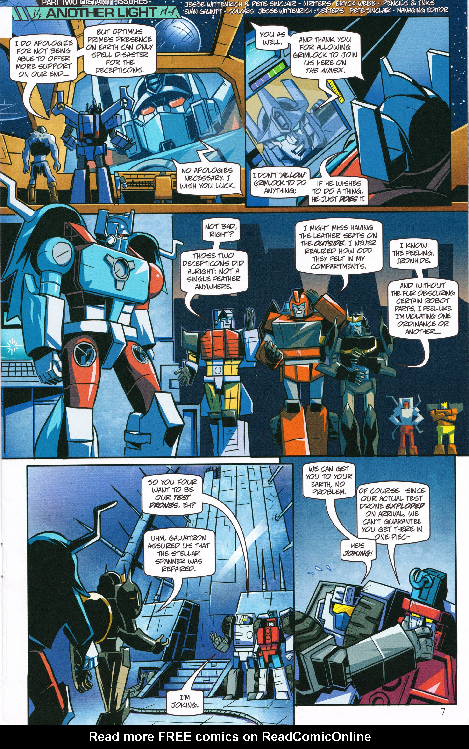Read online Transformers: Collectors' Club comic -  Issue #62 - 7