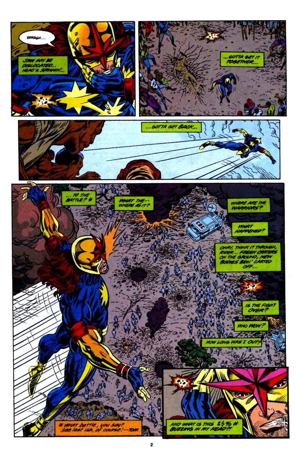 The New Warriors Issue #55 #59 - English 3