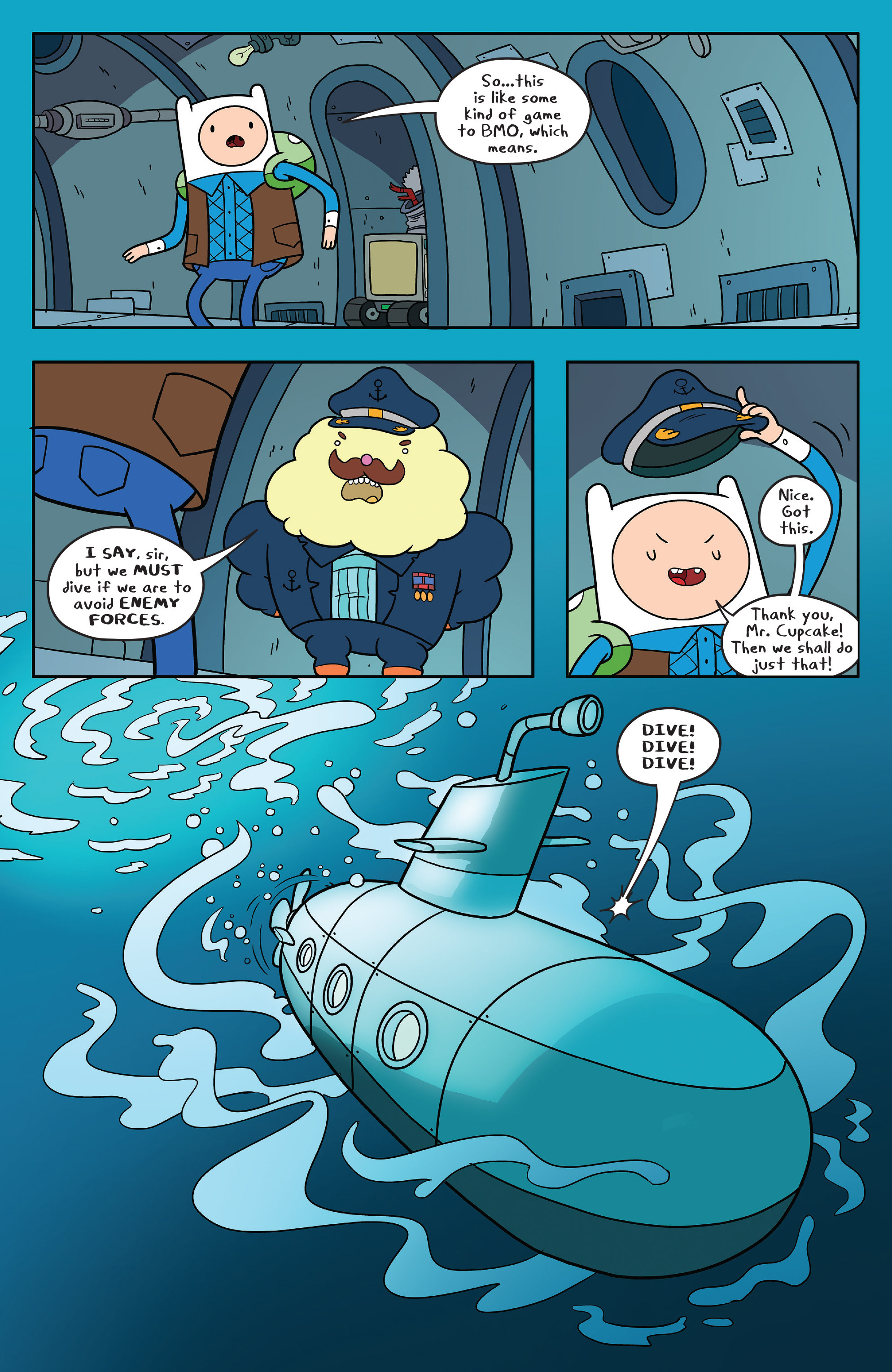 Read online Adventure Time comic -  Issue #56 - 14
