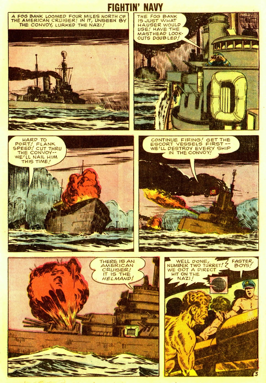 Read online Fightin' Navy comic -  Issue #83 - 77