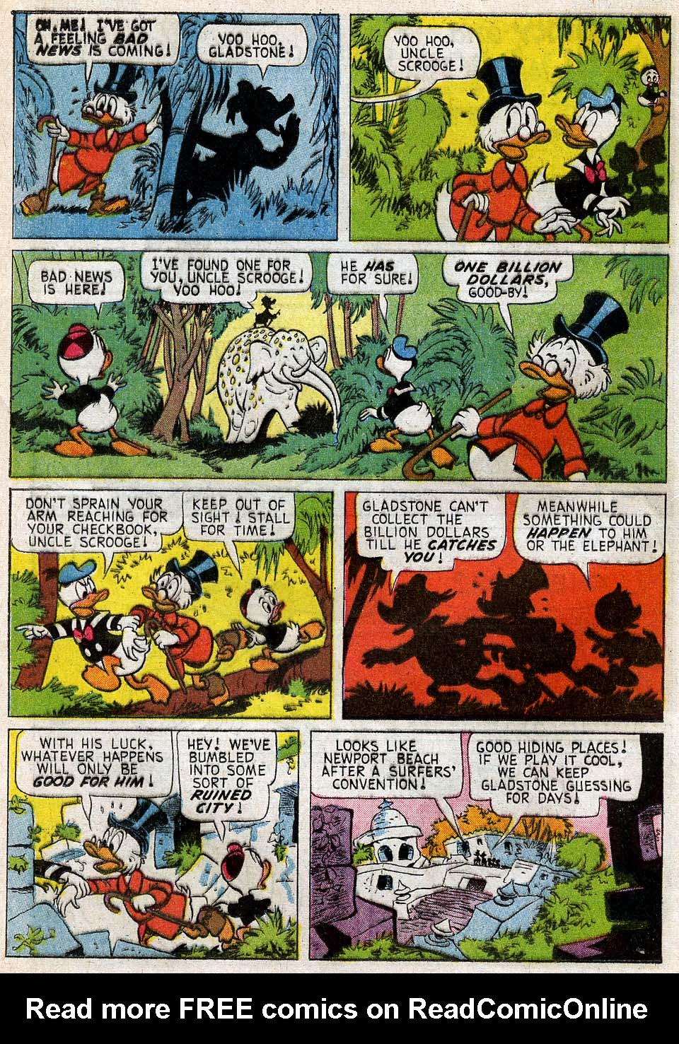 Read online Uncle Scrooge (1953) comic -  Issue #54 - 19