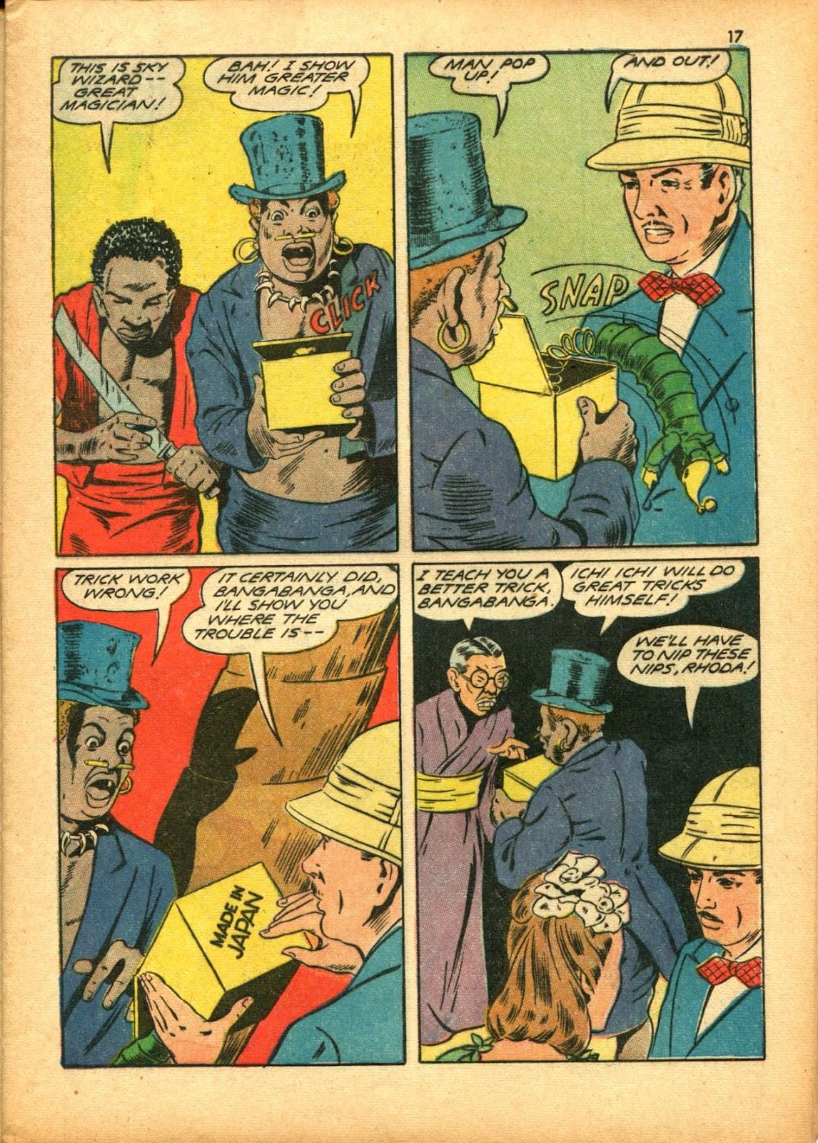 Read online Super-Magician Comics comic -  Issue #15 - 17