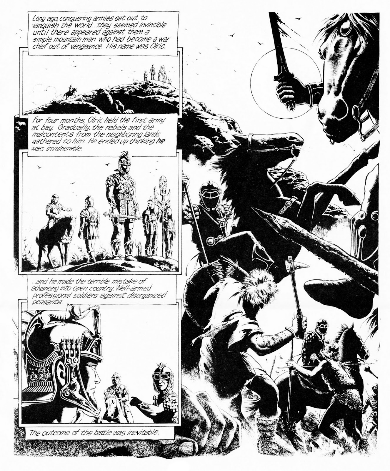 Conquering Armies issue TPB - Page 33