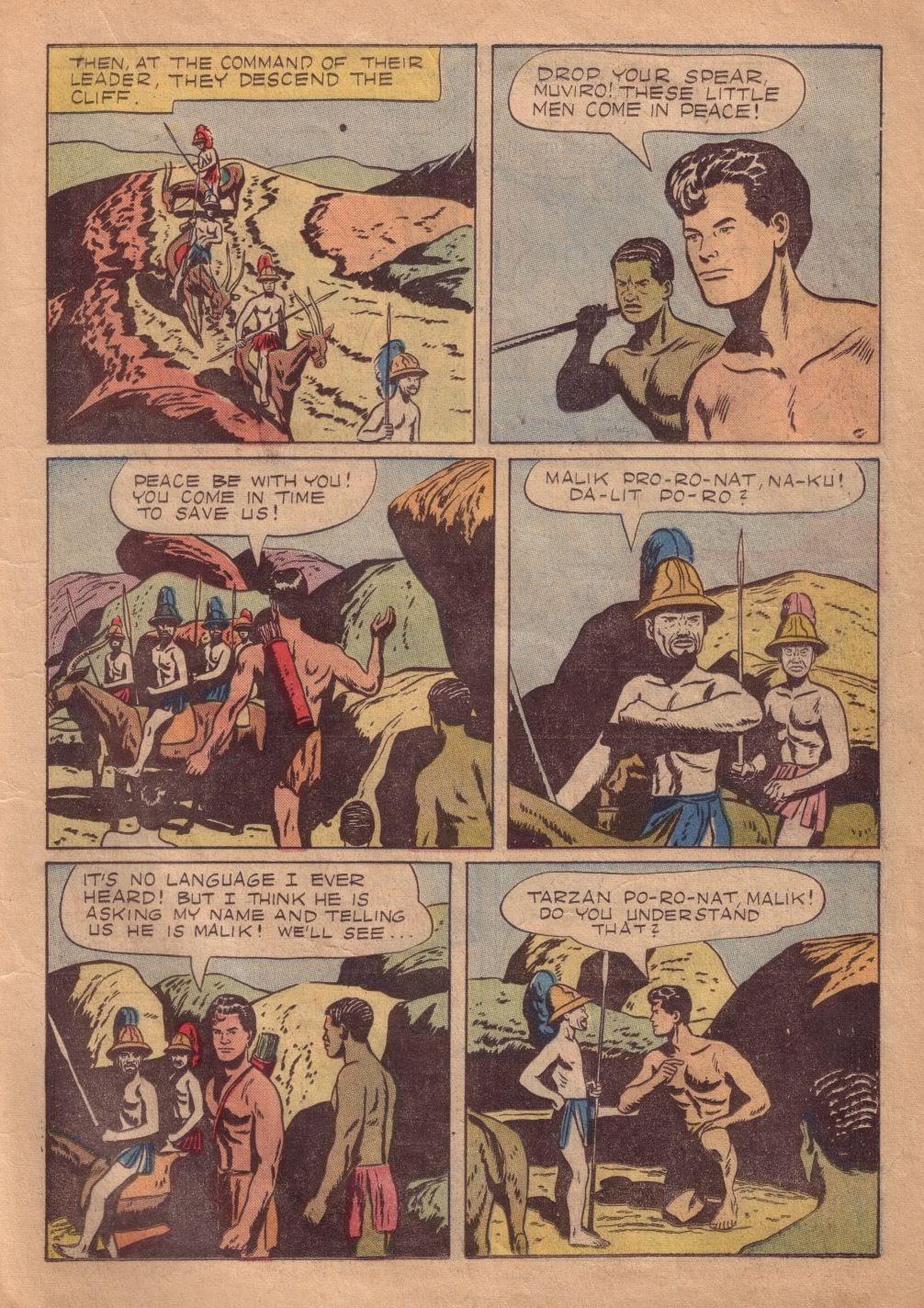Tarzan (1948) issue 8 - Page 13