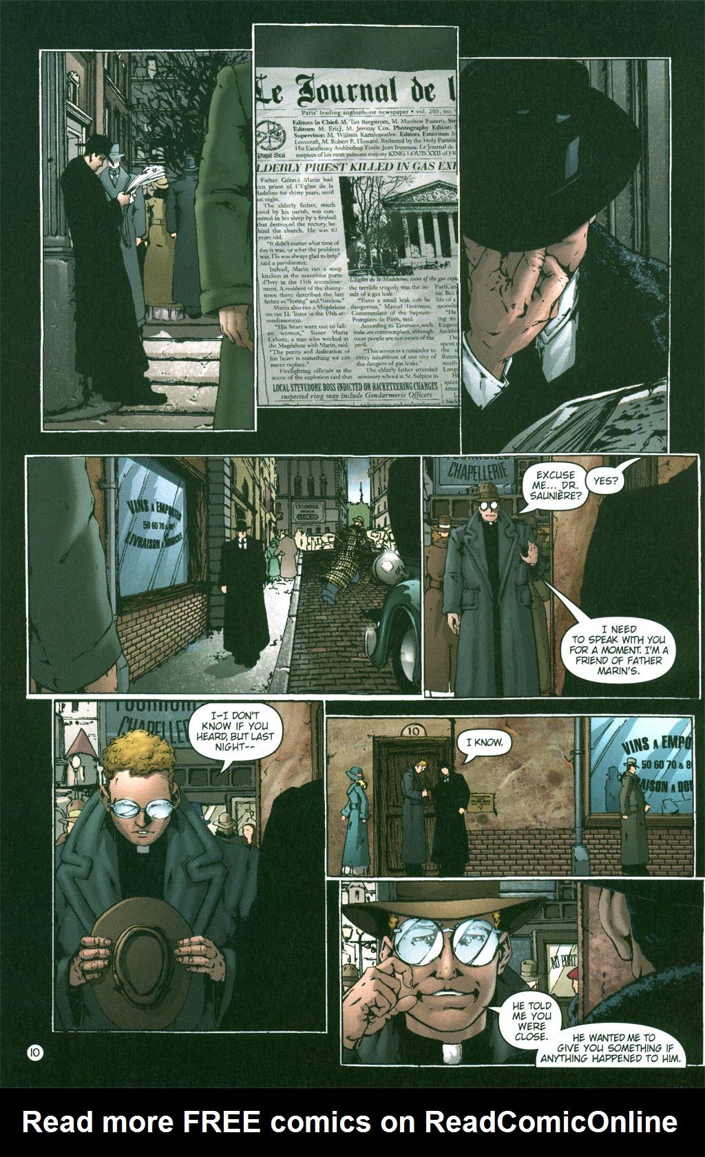 Read online Rex Mundi comic -  Issue #2 - 11