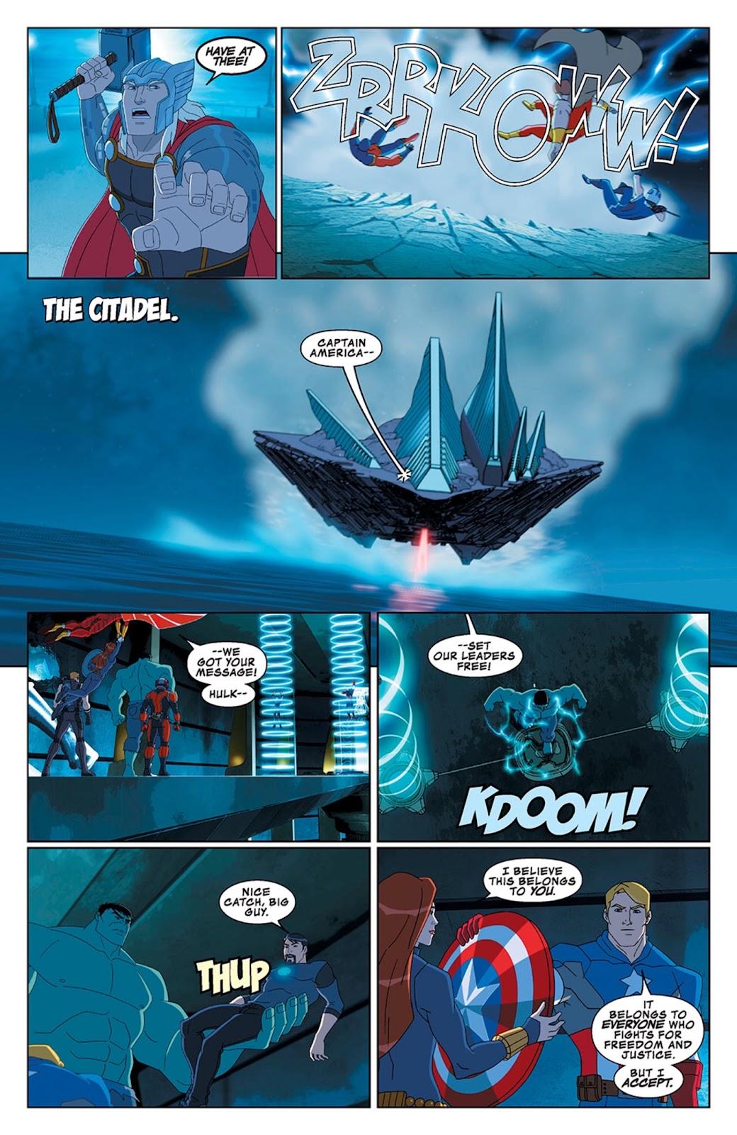 Read online Marvel Universe Avengers Assemble Season 2 comic -  Issue #13 - 25