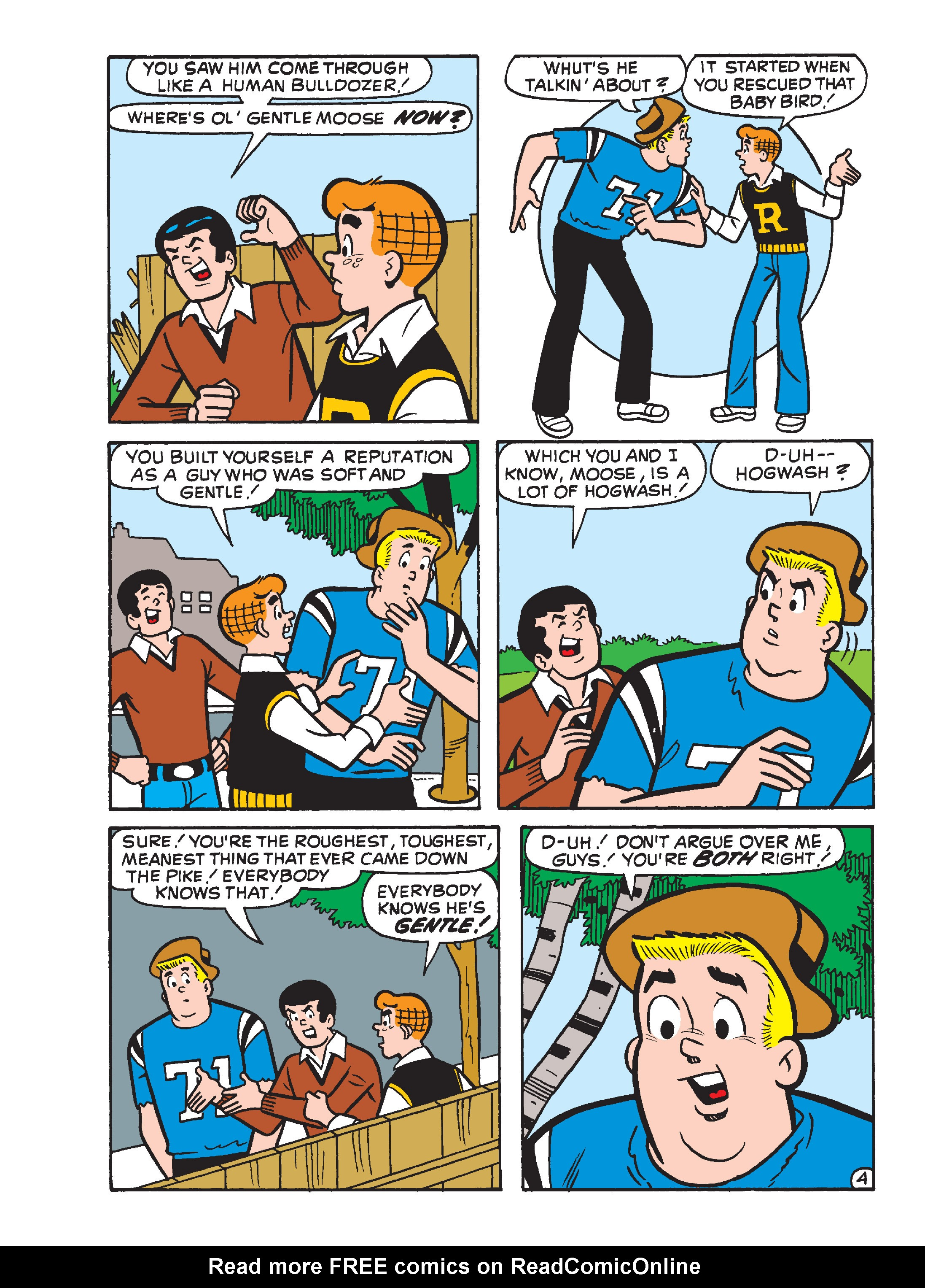 Read online Archie's Funhouse Double Digest comic -  Issue #15 - 22