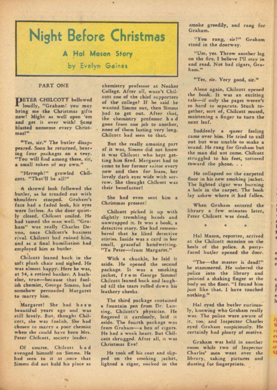 Read online Sensation (Mystery) Comics comic -  Issue #24 - 40