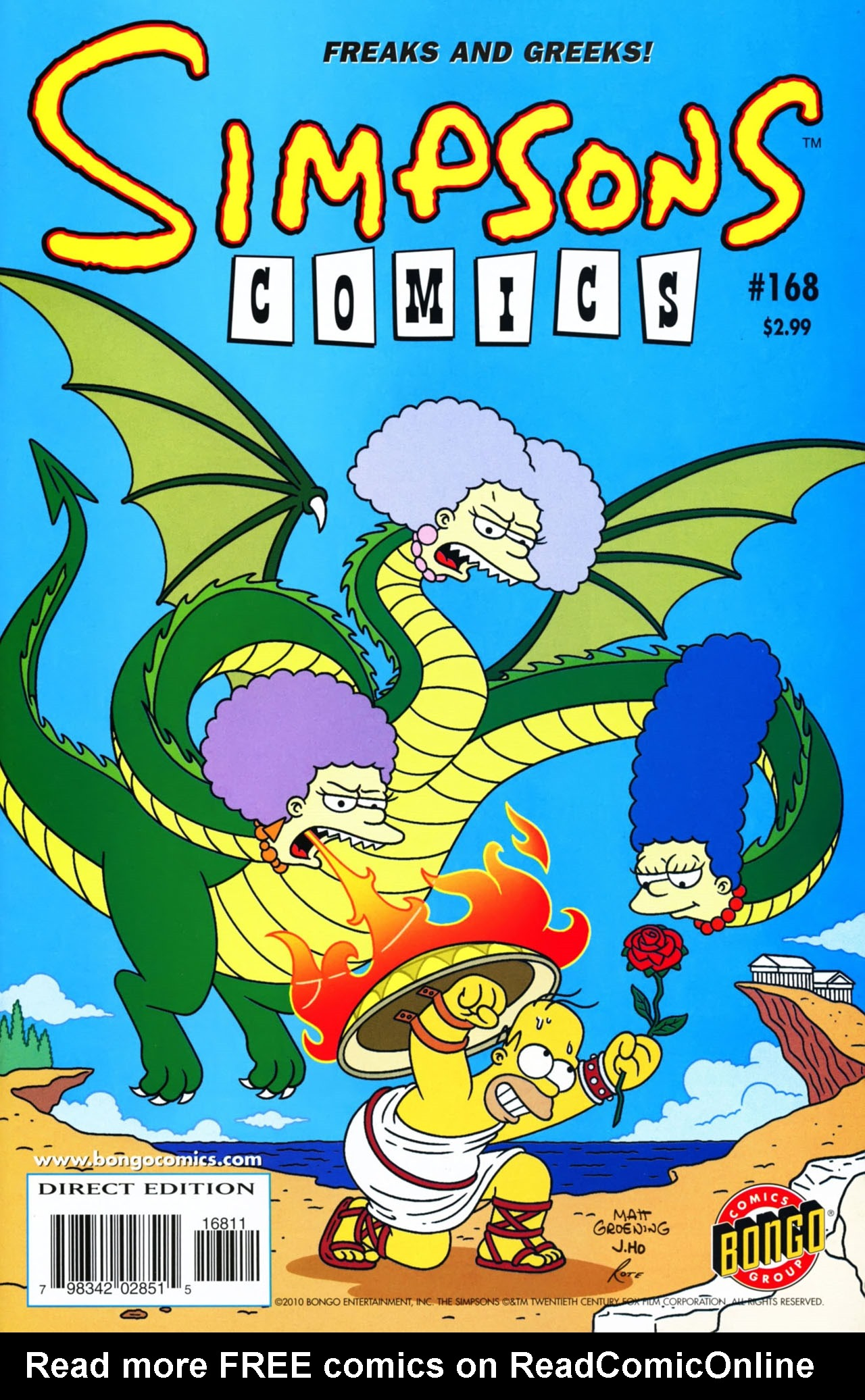 Read online Simpsons Comics comic -  Issue #168 - 1