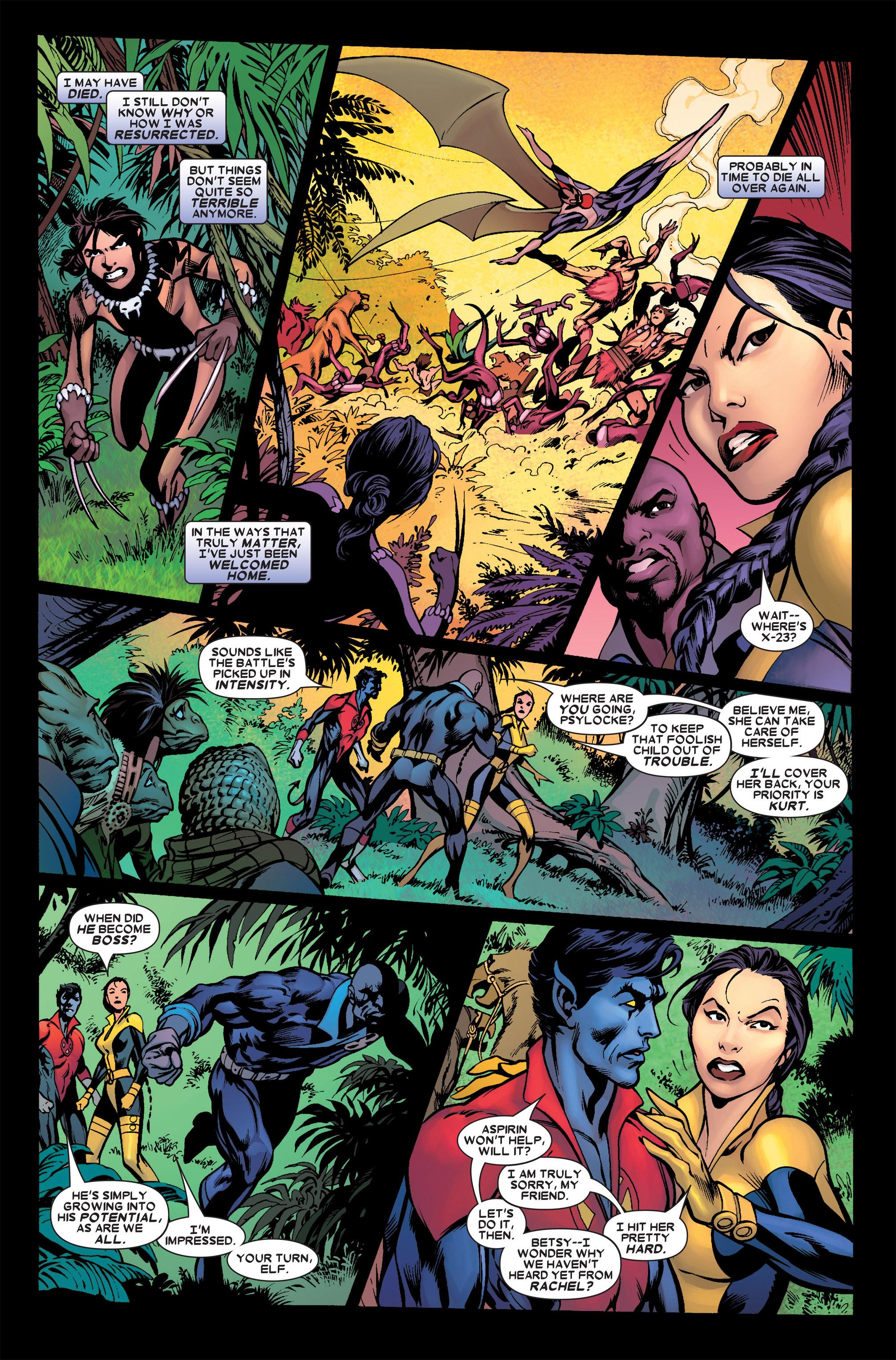 Read online Uncanny X-Men (1963) comic -  Issue #458 - 11