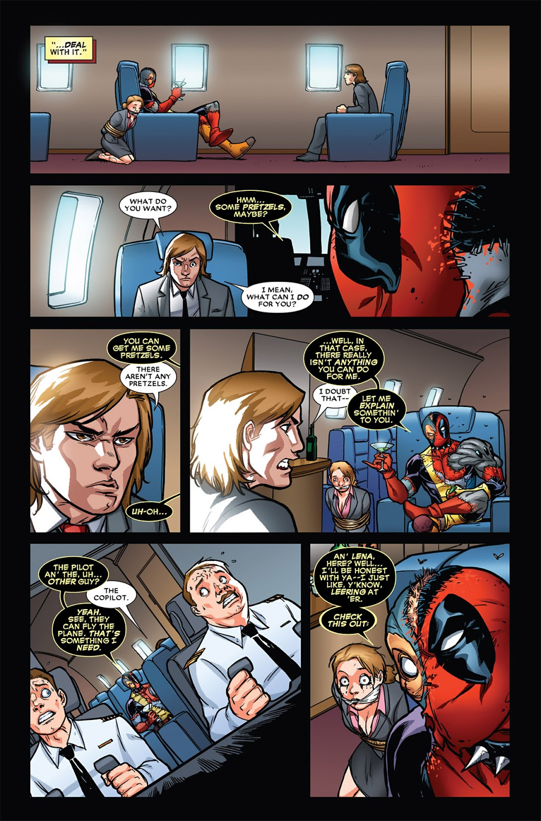 Read online Deadpool (2008) comic -  Issue #45 - 7