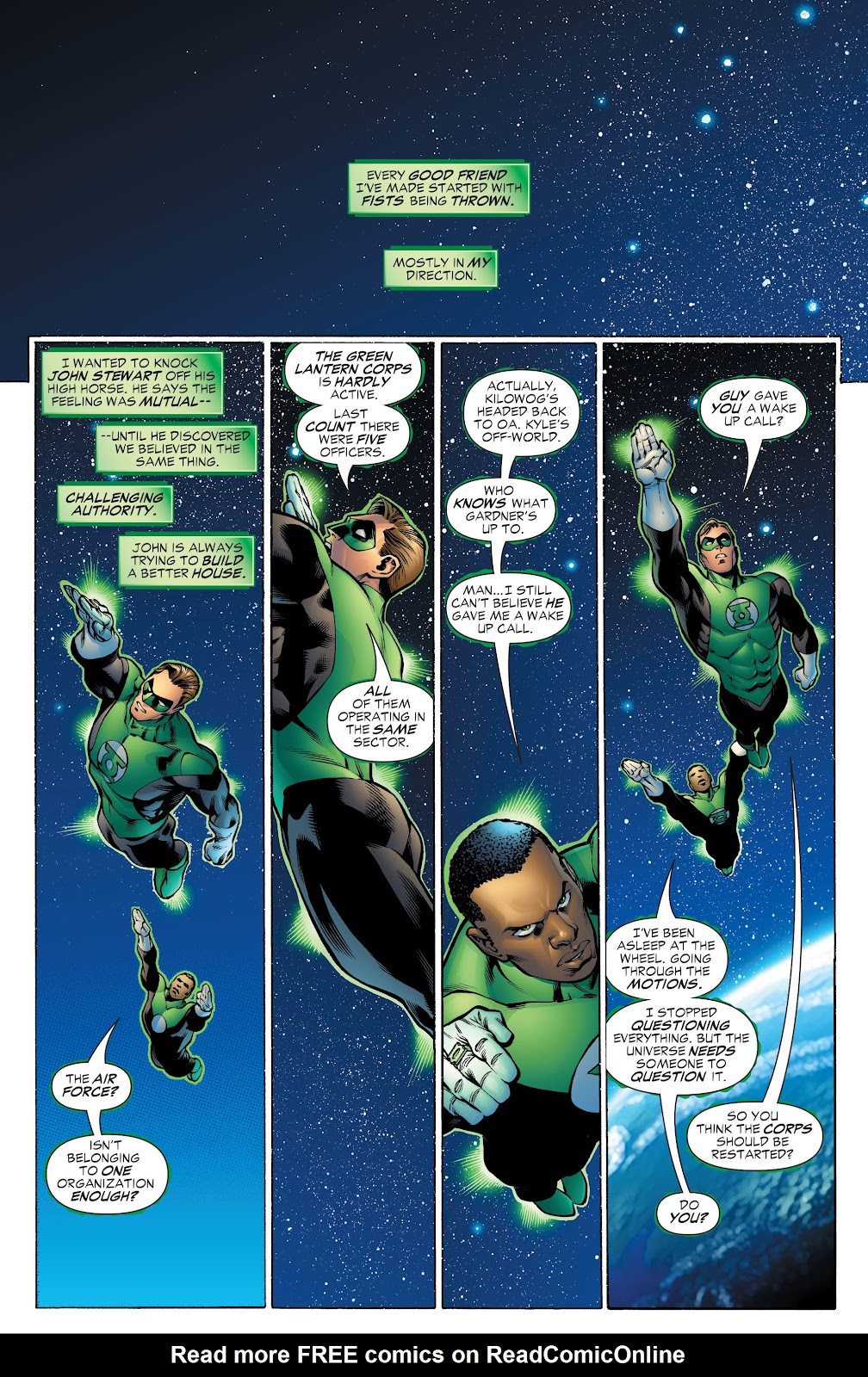 Read online Green Lantern by Geoff Johns comic -  Issue # TPB 1 (Part 4) - 9
