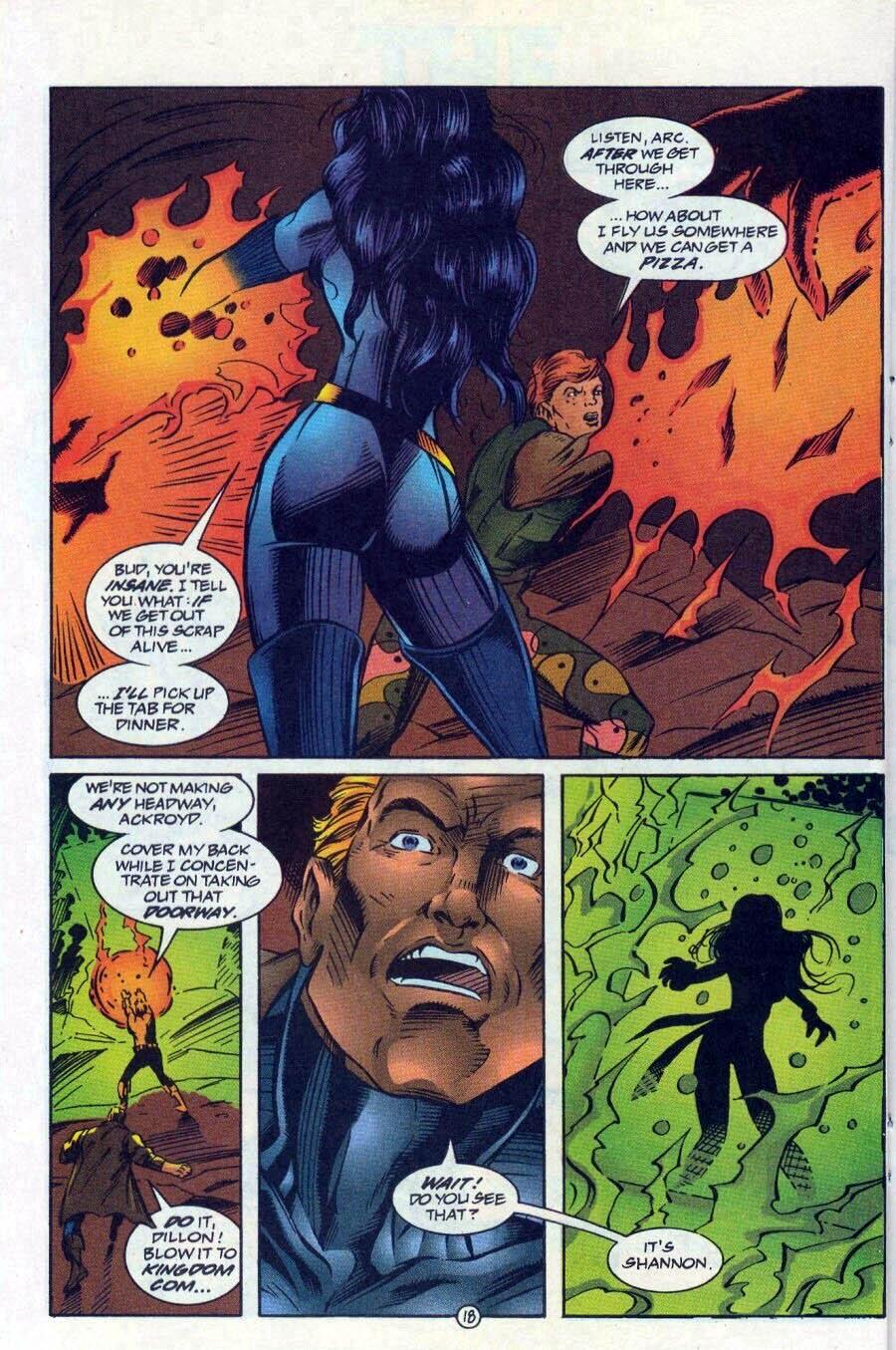 Read online Ex-Mutants comic -  Issue #17 - 19