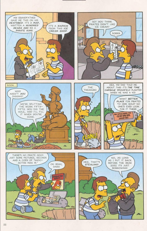 Read online Simpsons Comics comic -  Issue #75 - 23