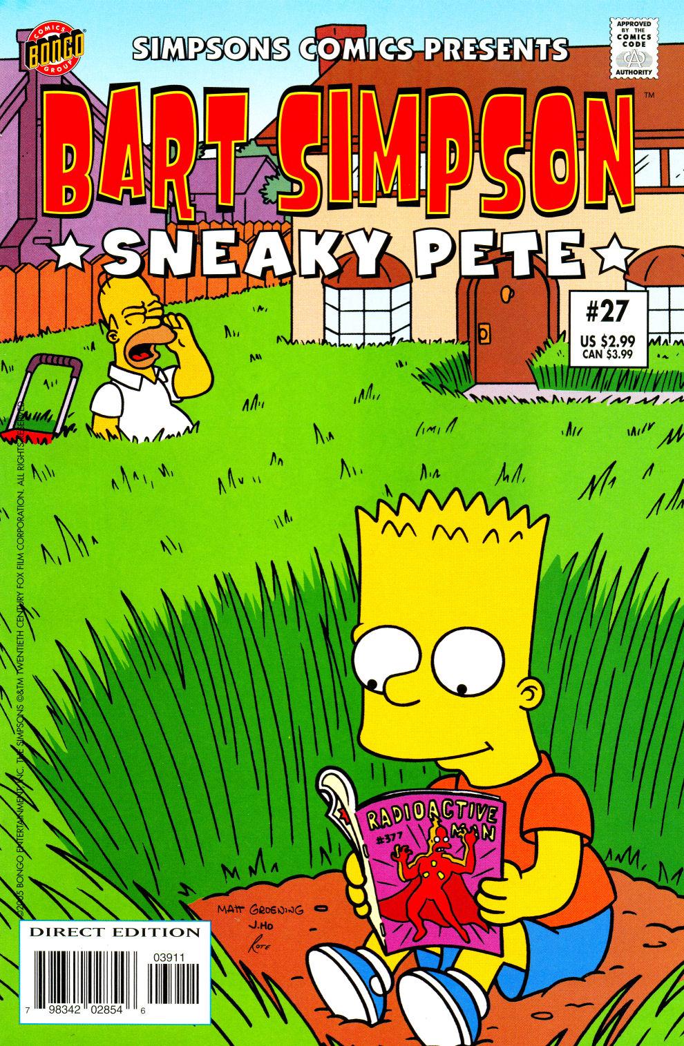 Read online Simpsons Comics Presents Bart Simpson comic -  Issue #27 - 1