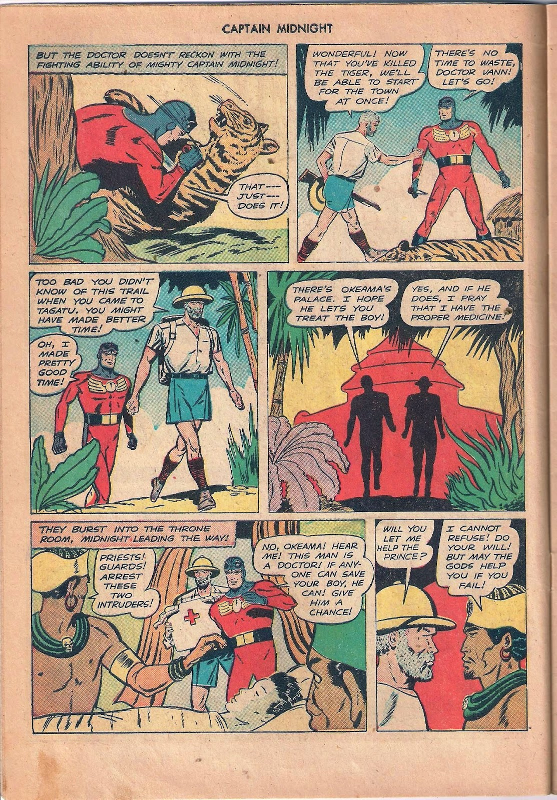 Captain Midnight (1942) issue 53 - Page 10