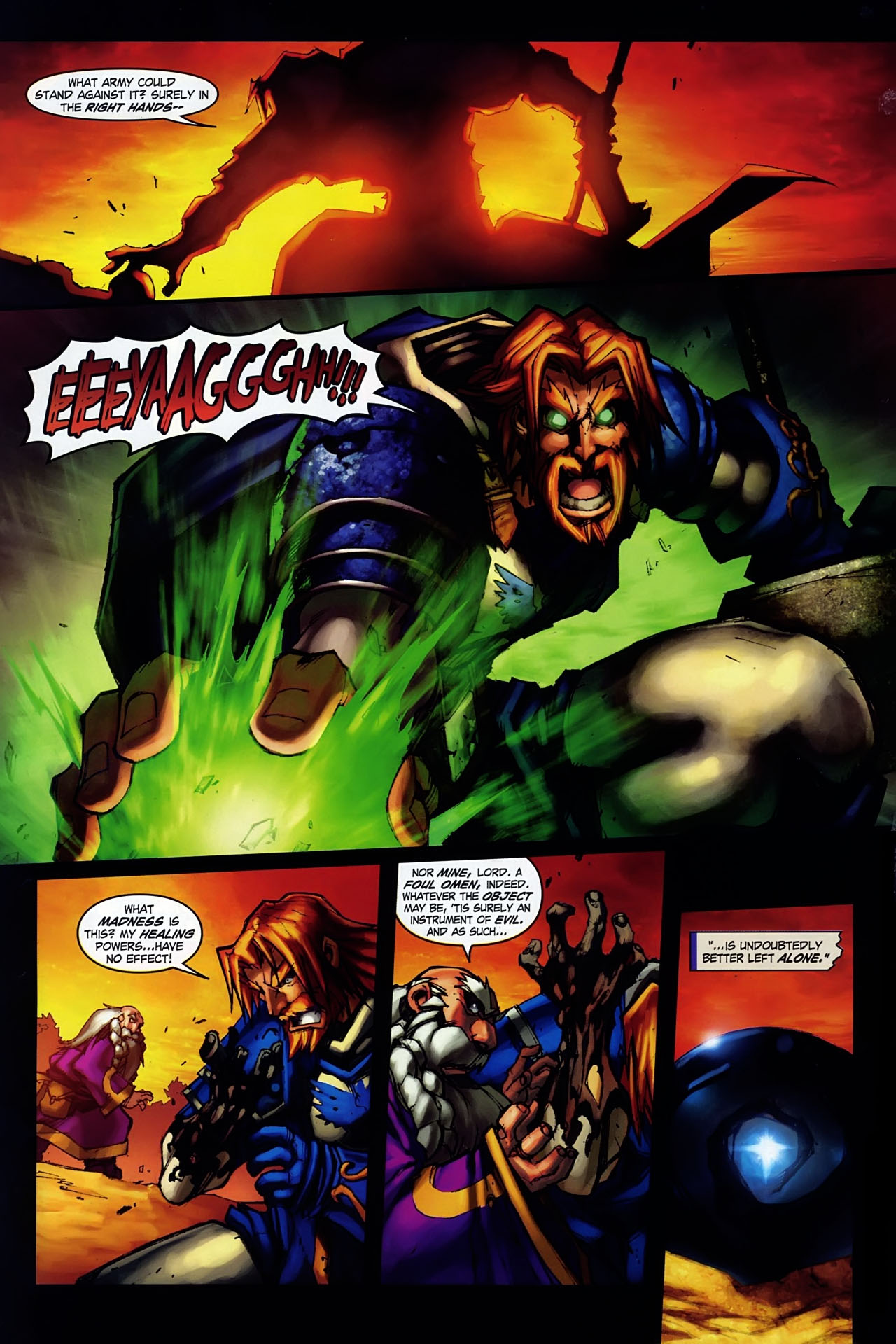 Read online World of Warcraft: Ashbringer comic -  Issue #1 - 7