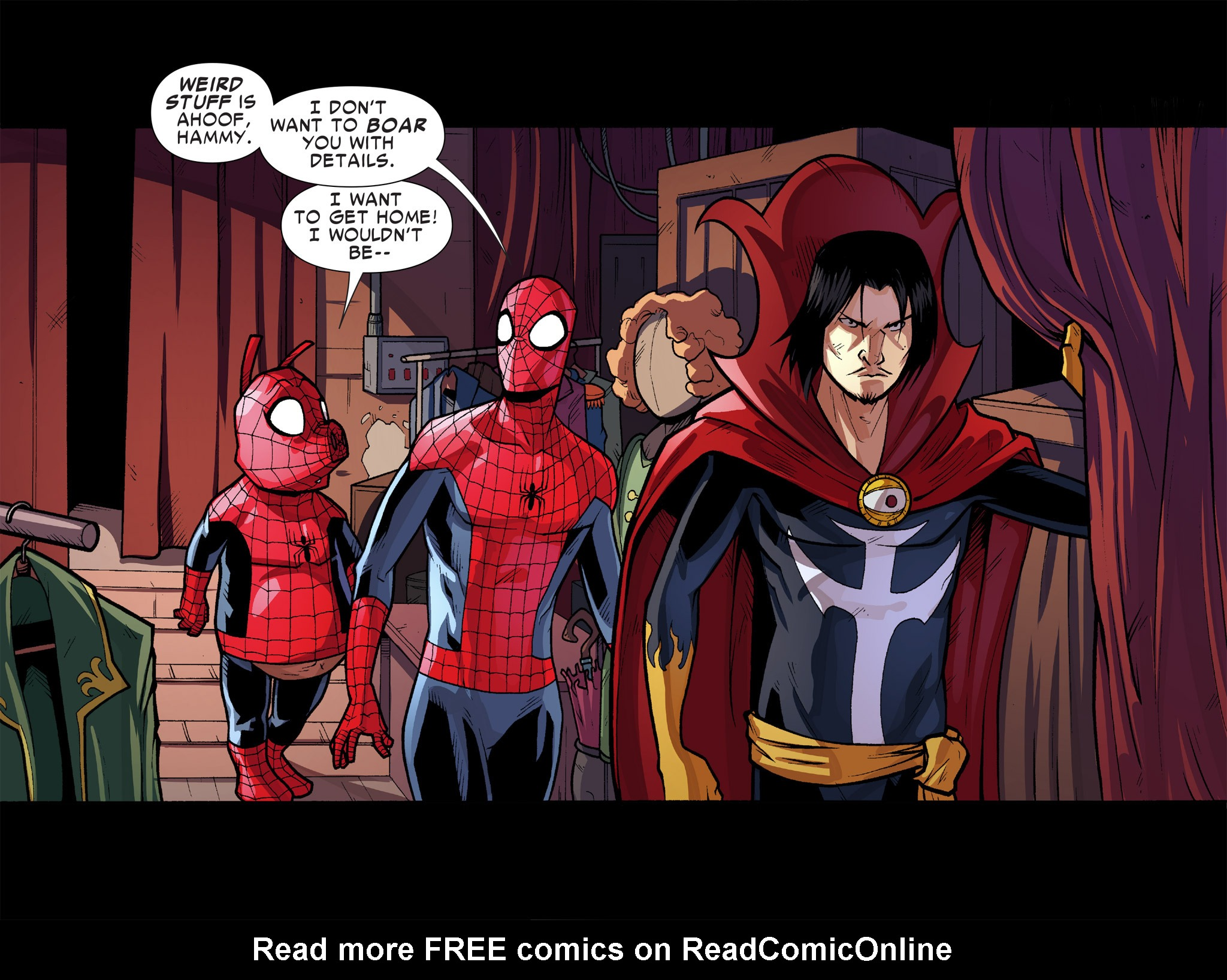 Read online Ultimate Spider-Man (Infinite Comics) (2016) comic -  Issue #9 - 20