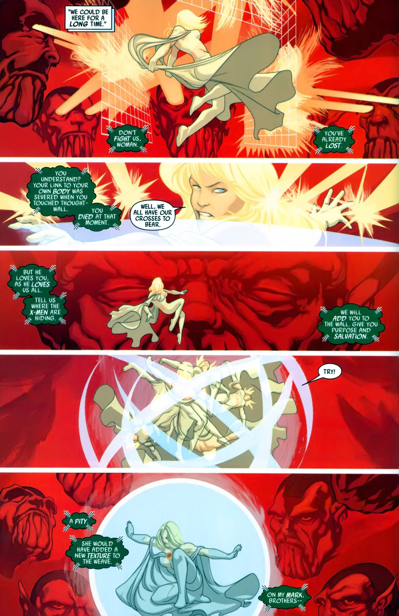 Read online Secret Invasion: X-Men comic -  Issue #3 - 5