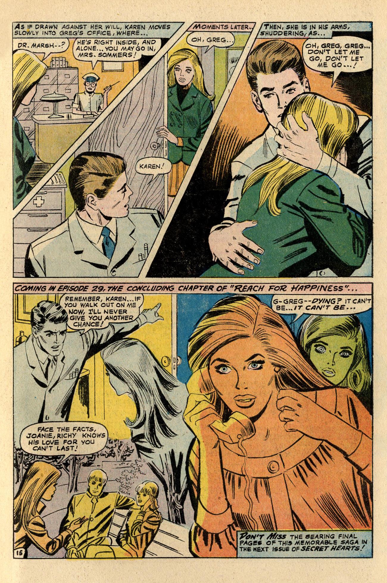 Read online Secret Hearts comic -  Issue #137 - 33