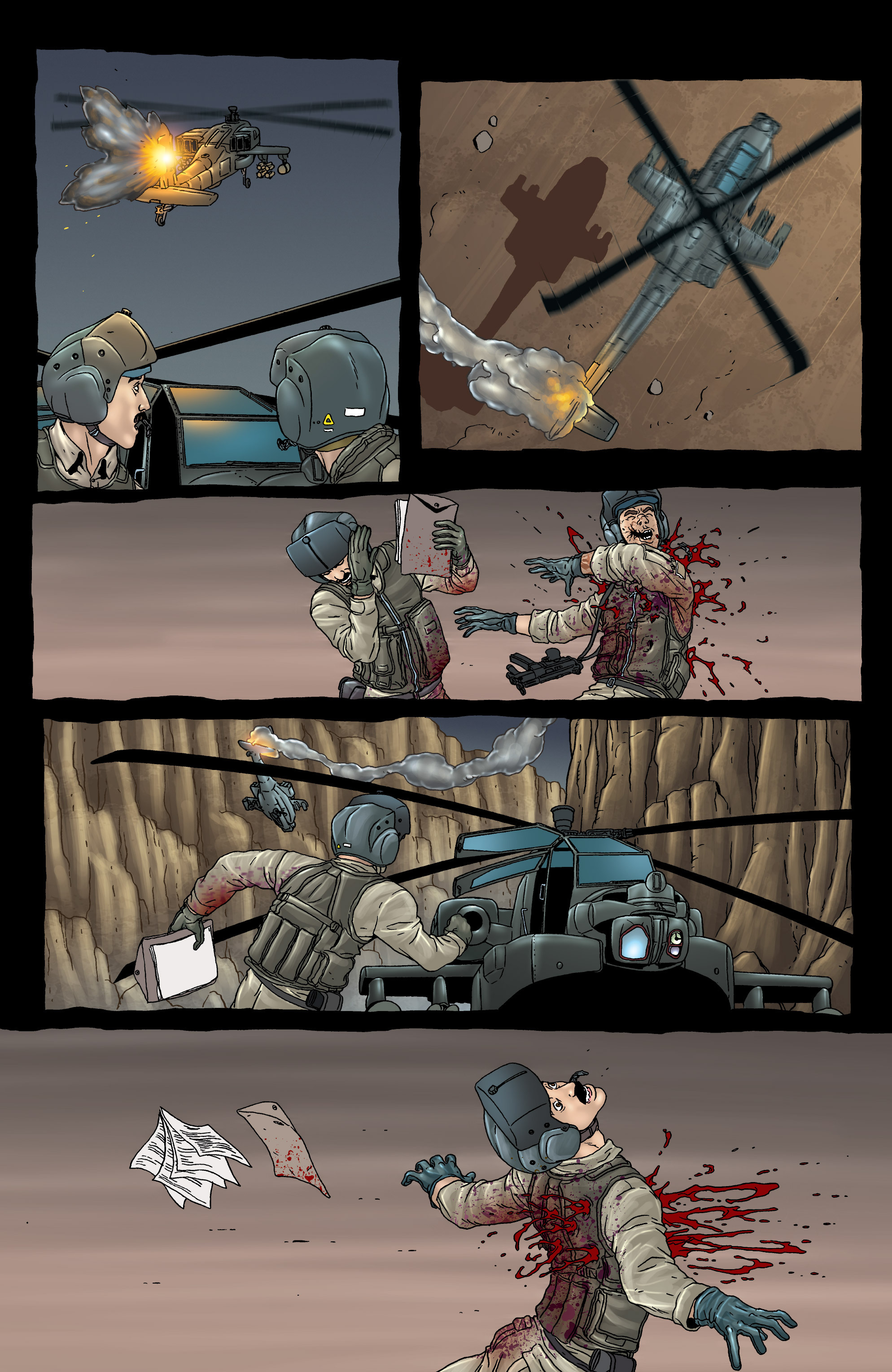 Read online 303 comic -  Issue #3 - 6