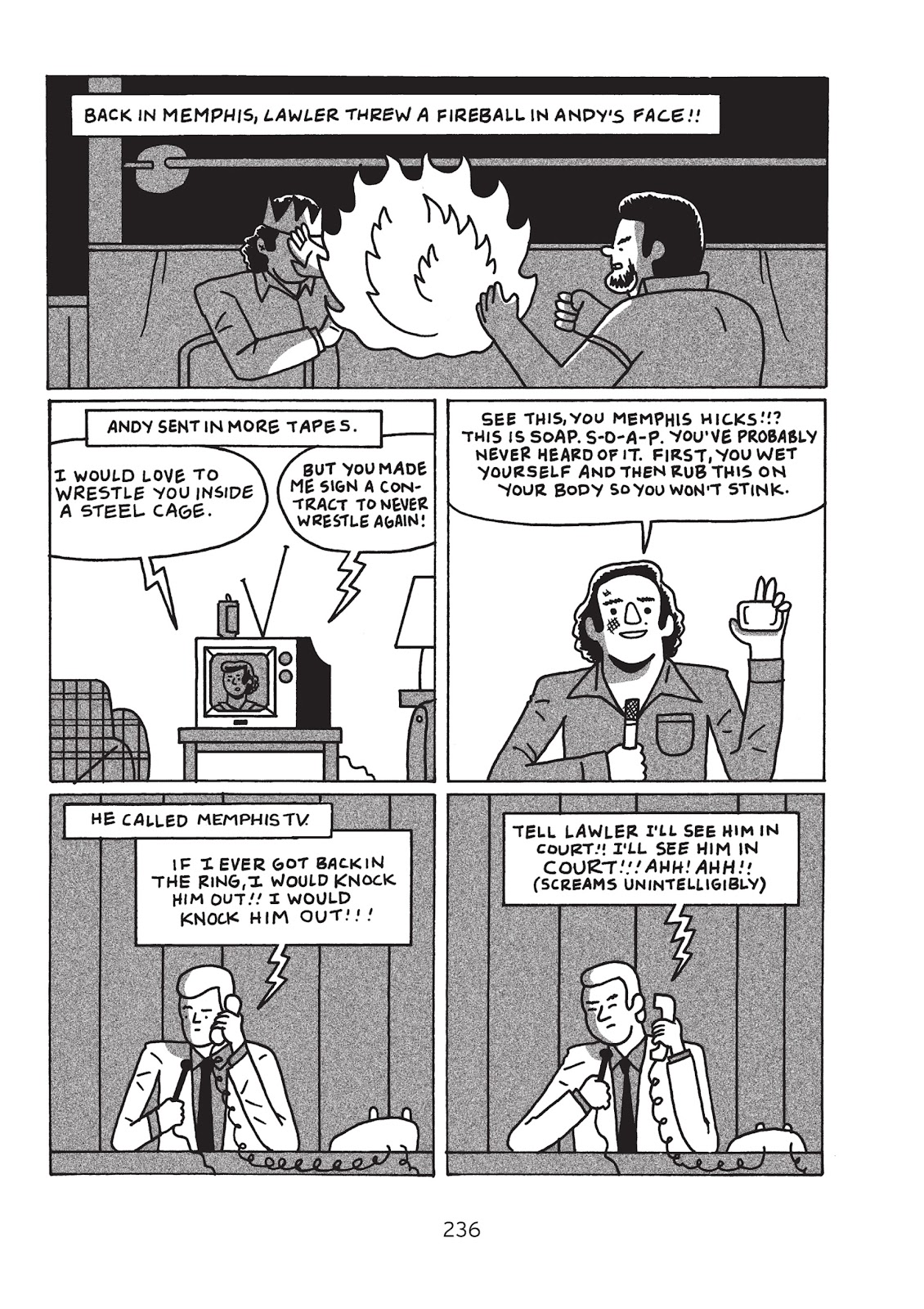 Read online Is This Guy For Real?: The Unbelievable Andy Kaufman comic -  Issue # TPB (Part 3) - 41