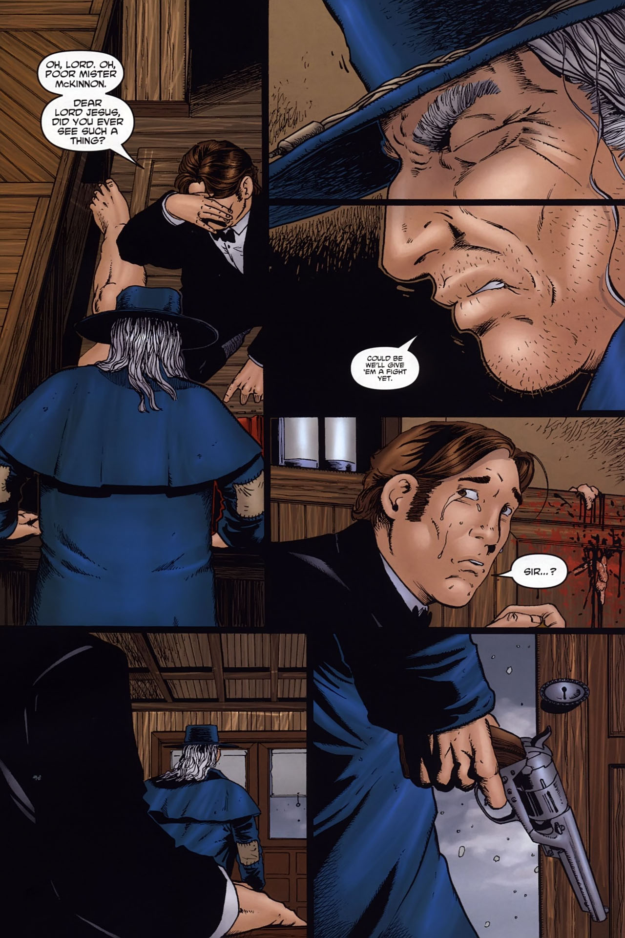 Read online Garth Ennis' Streets of Glory comic -  Issue #6 - 17