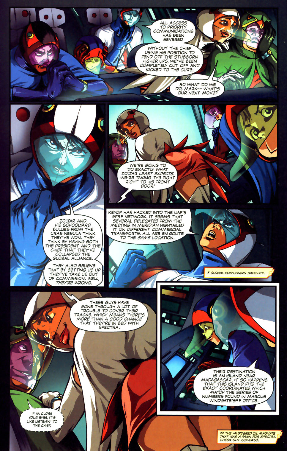 Battle of the Planets Issue #12 #14 - English 15