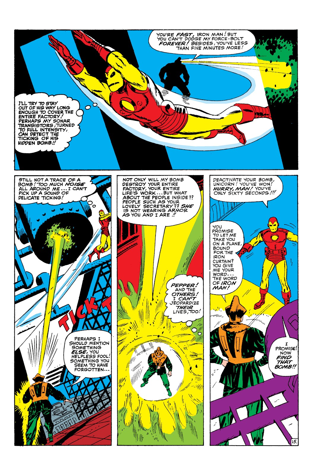 Read online Marvel Masterworks: The Invincible Iron Man comic -  Issue # TPB 2 (Part 1) - 96