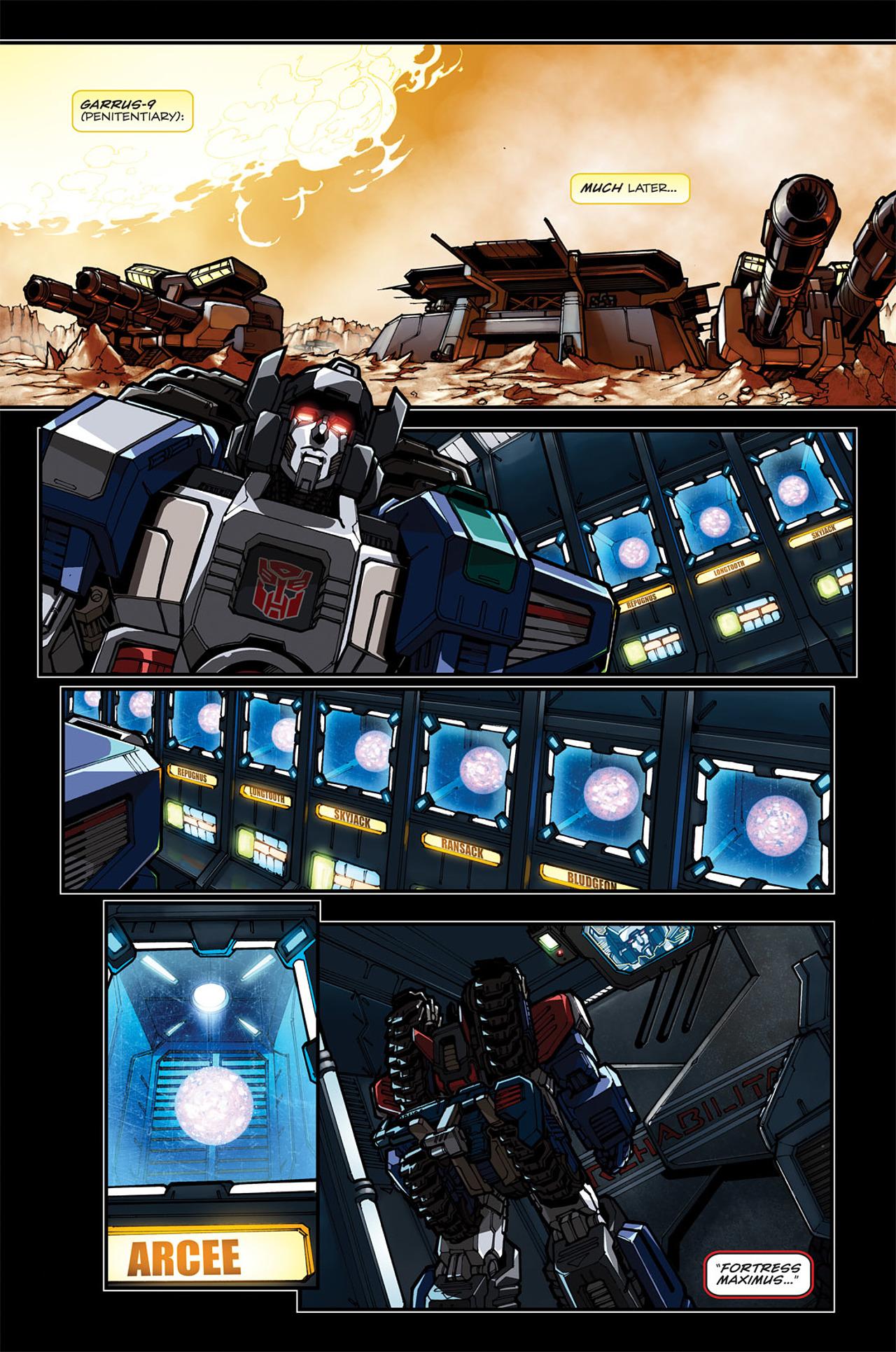 Read online Transformers: Spotlight - Arcee comic -  Issue # Full - 11