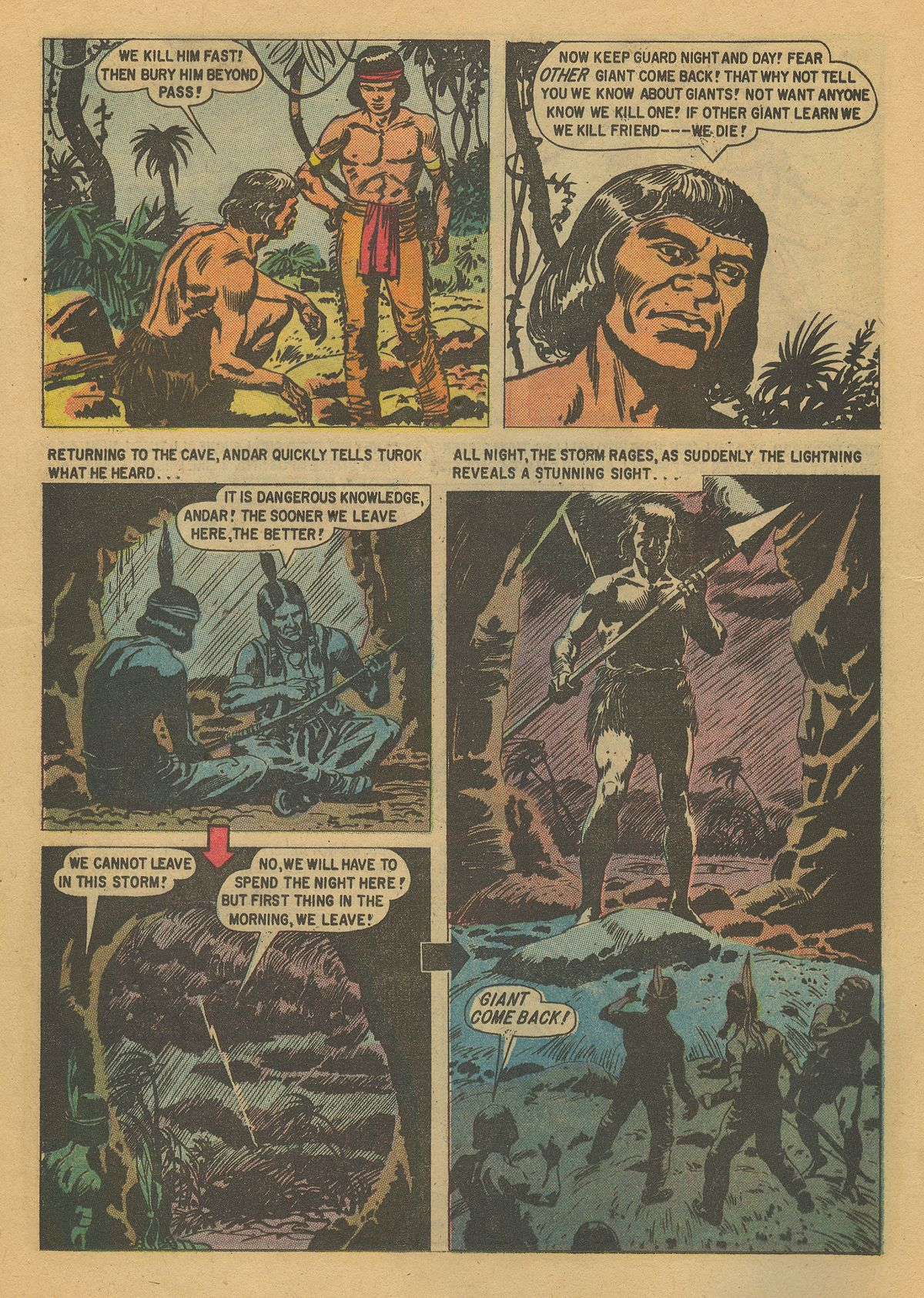Read online Turok, Son of Stone comic -  Issue #16 - 12