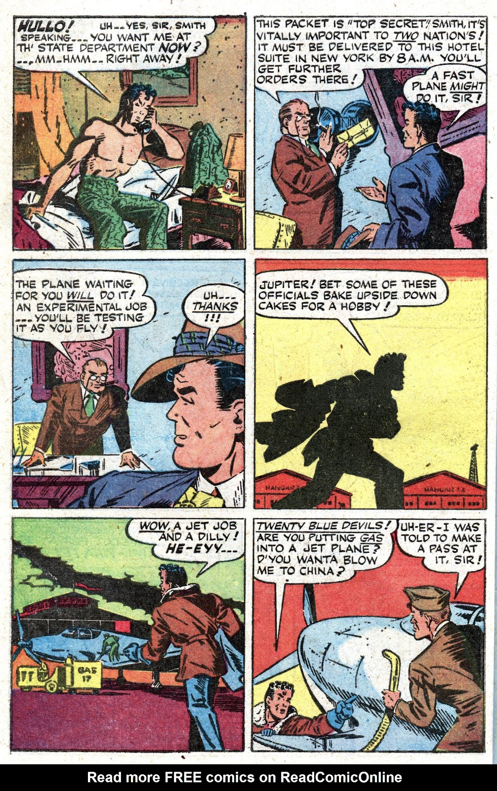 Read online Famous Funnies comic -  Issue #157 - 42