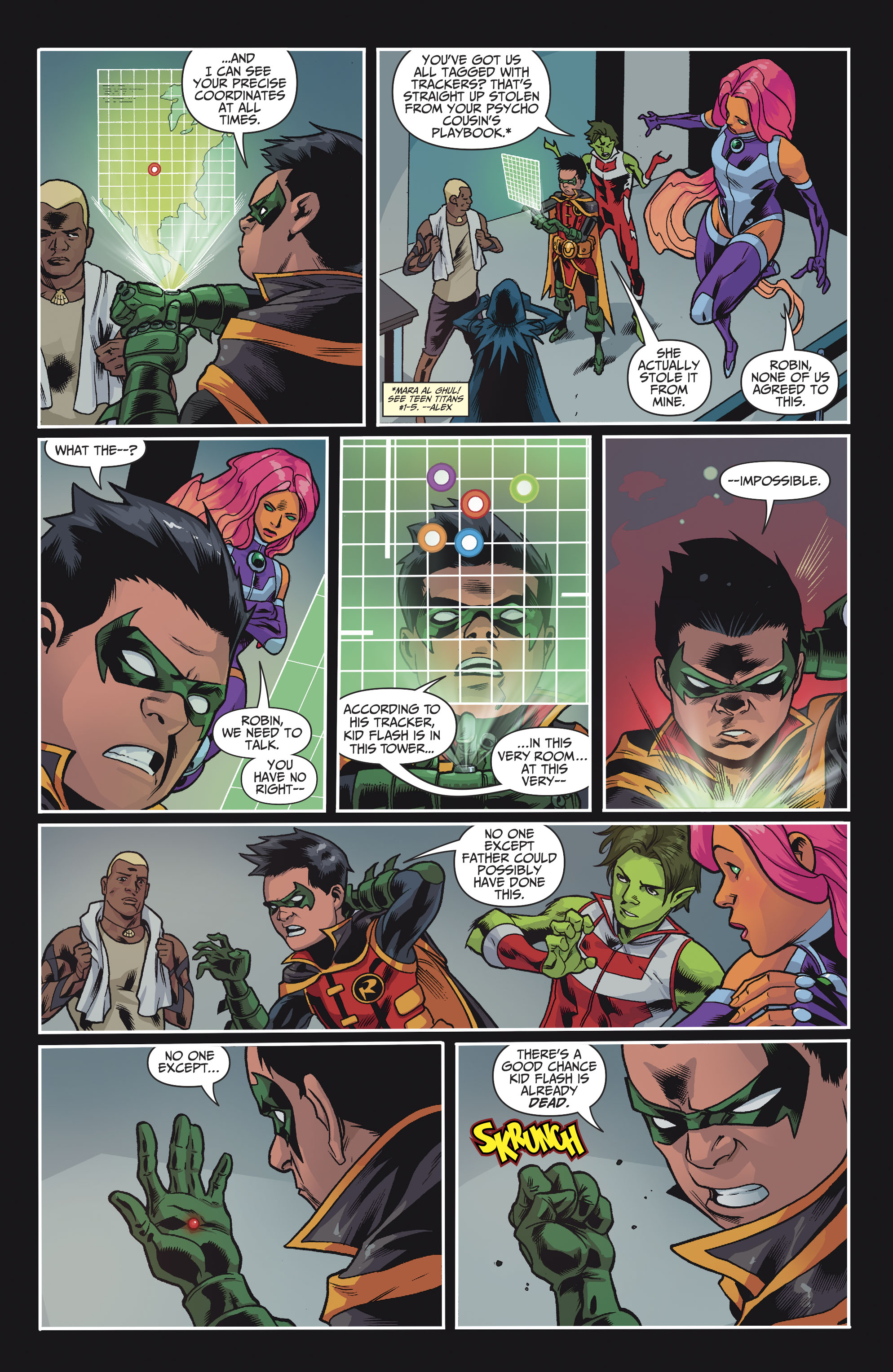 Read online Teen Titans (2016) comic -  Issue #8 - 8