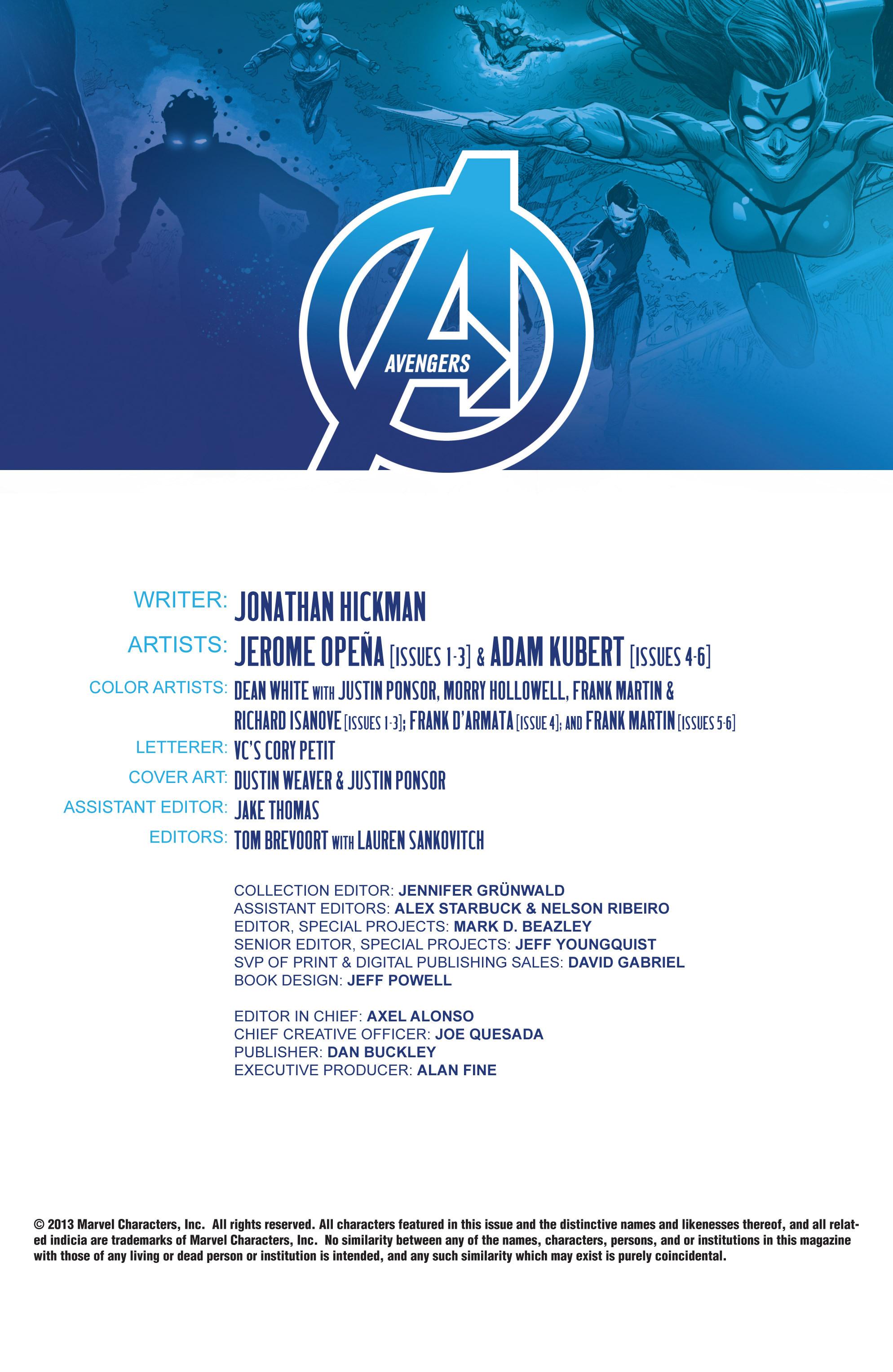 Read online Avengers (2013) comic -  Issue #Avengers (2013) _TPB 1 - 153