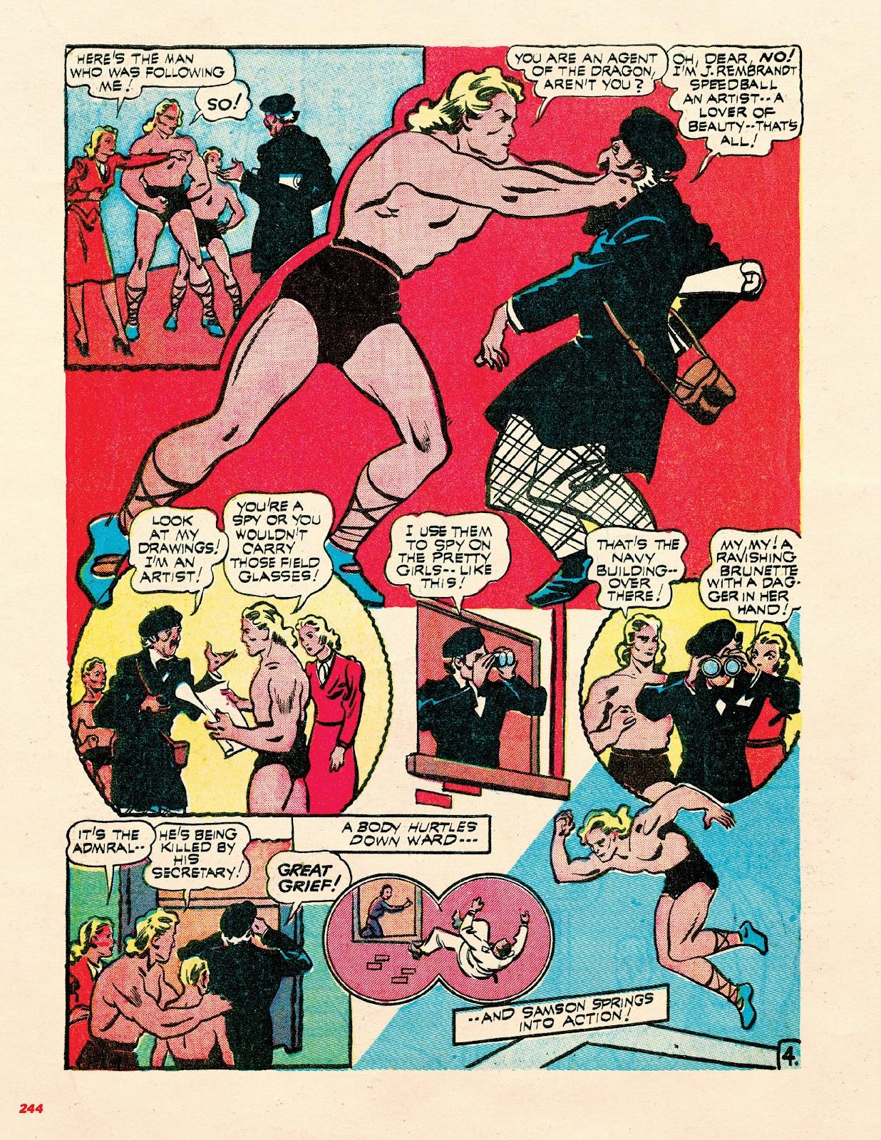 Read online Super Weird Heroes comic -  Issue # TPB 2 (Part 3) - 44