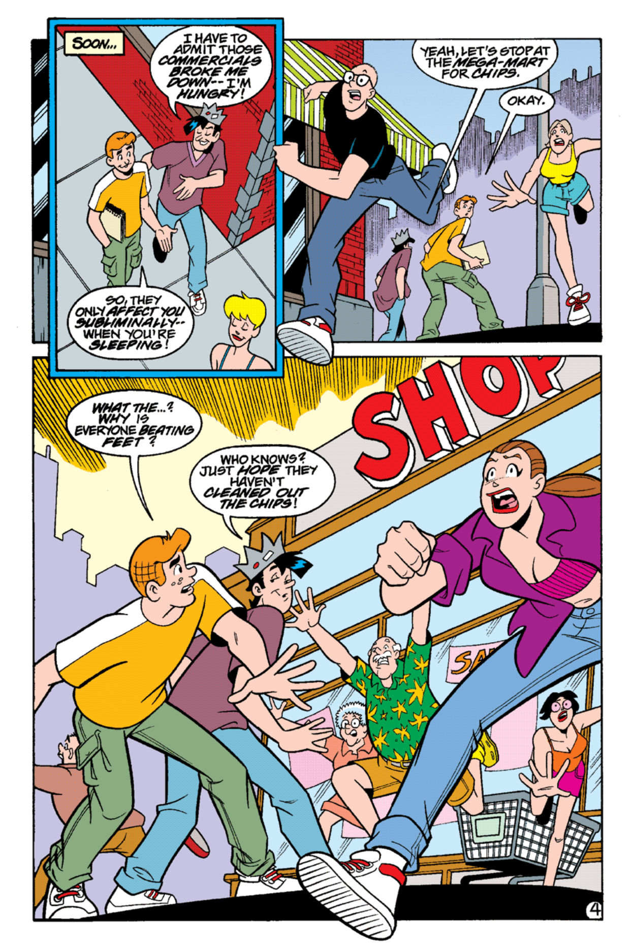 Read online Archie's Weird Mysteries comic -  Issue #15 - 6