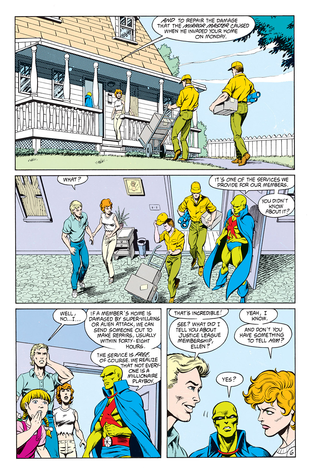 Read online Animal Man (1988) comic -  Issue #9 - 8