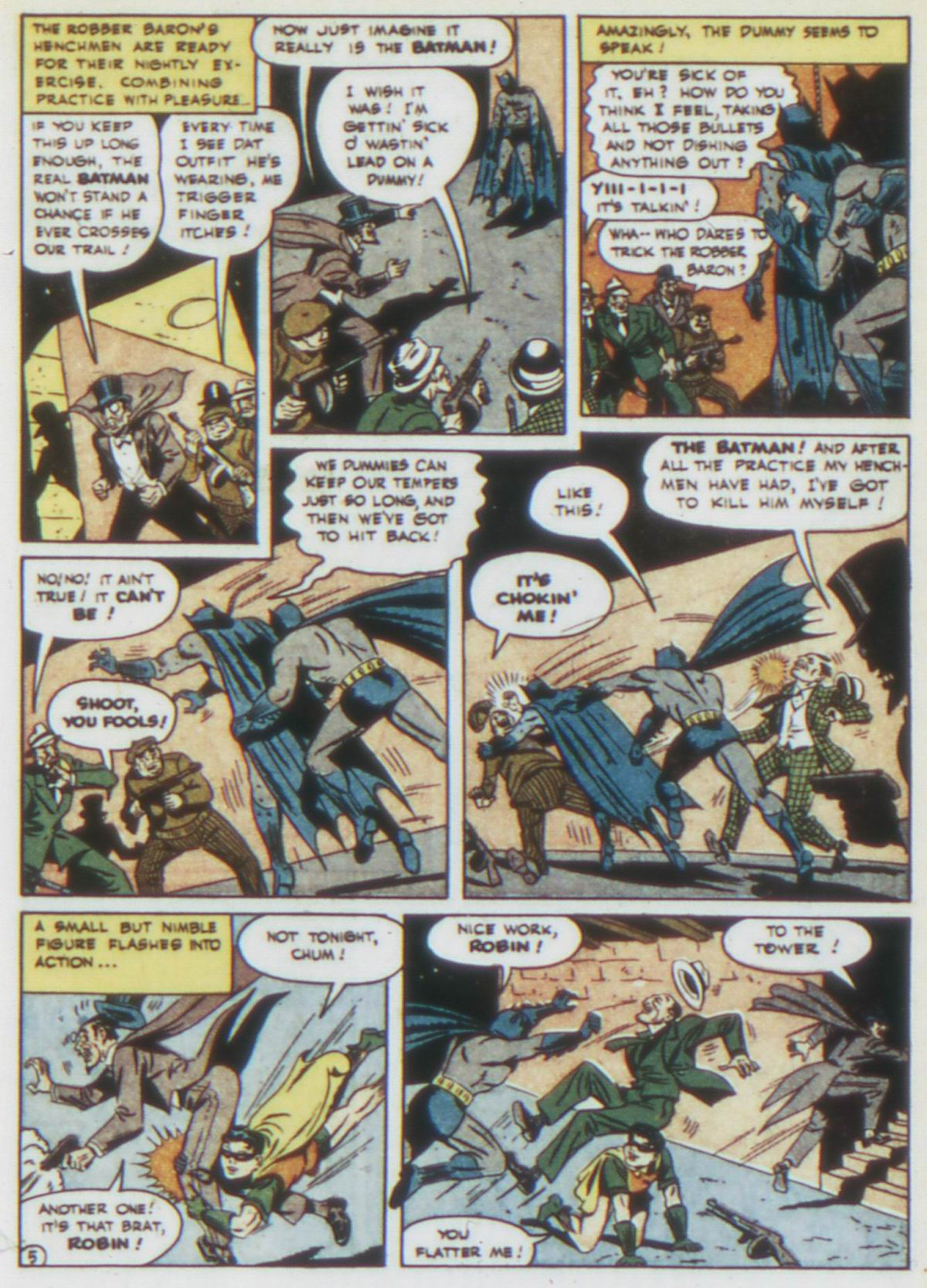 Read online Detective Comics (1937) comic -  Issue #75 - 7